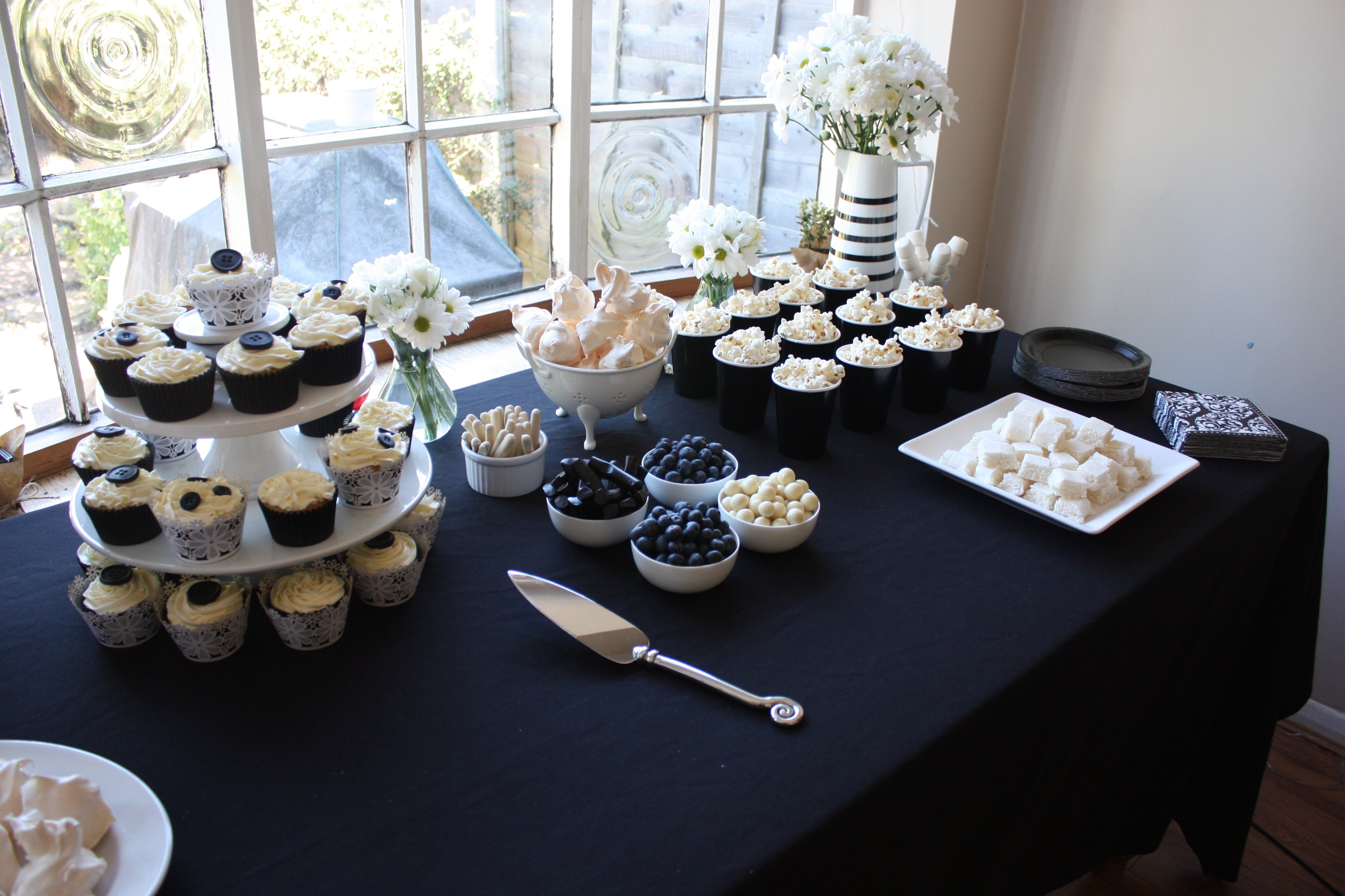 10 Perfect Black And White Food Ideas black white themed party more than cupcakes 2020