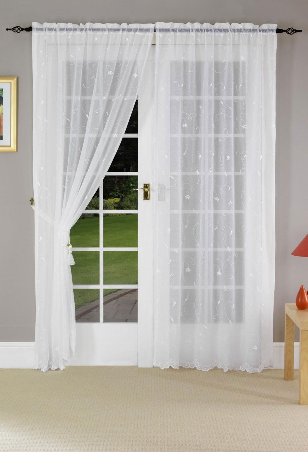 10 Stylish Curtain Ideas For French Doors blinds for patio doors ideas melissa door design