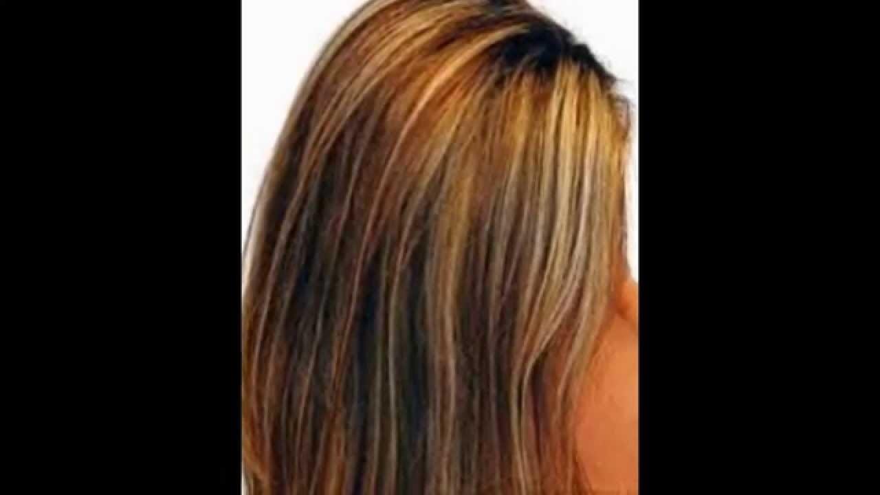 10 Cute Hair Color Ideas For Dark Hair With Highlights blonde highlight hair ideas for dark brown hair 2015 youtube