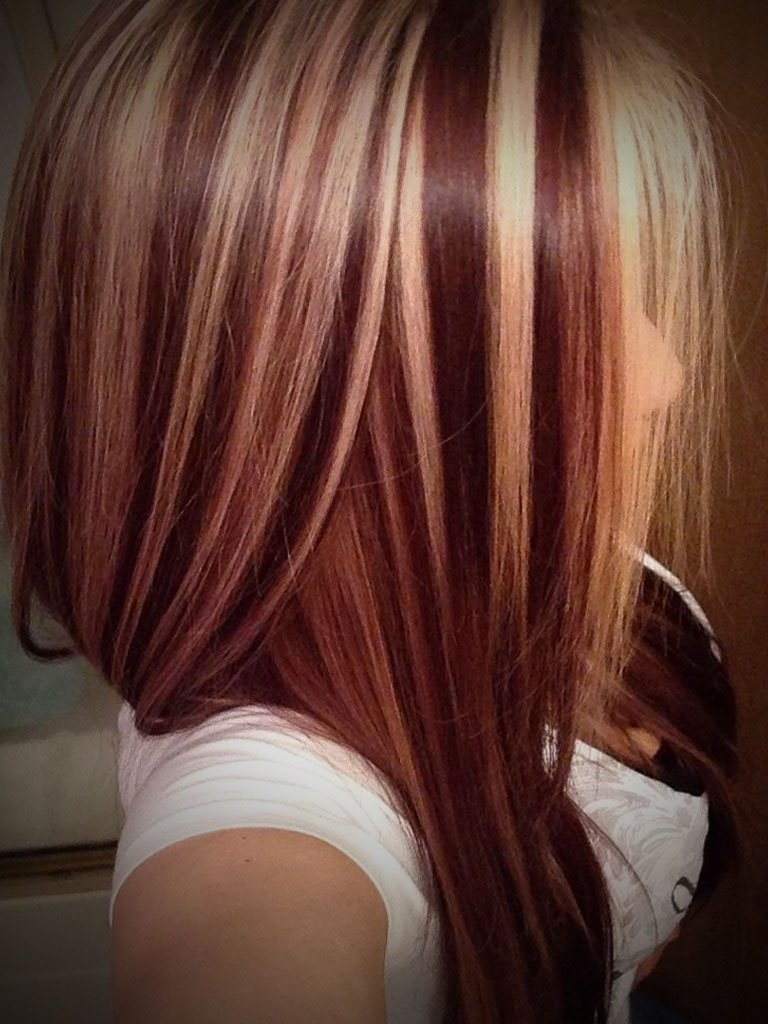 10 Amazing Red Blonde Brown Hair Color Ideas blonde highlights with red different strawberry blonde hair color 2020