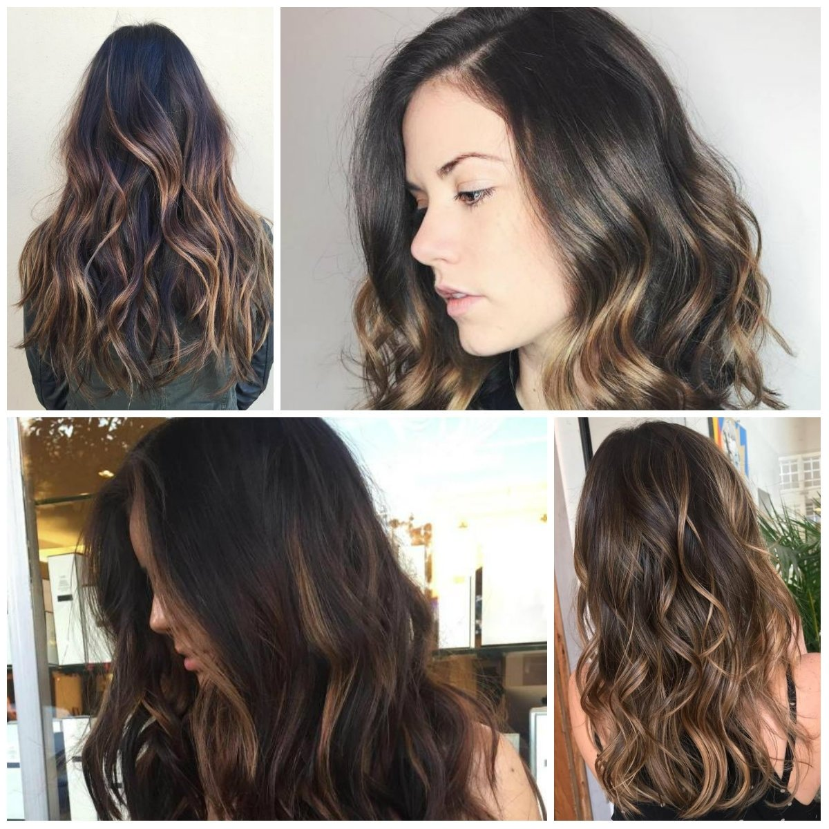 10 Beautiful Two Tone Hair Color Ideas For Brunettes