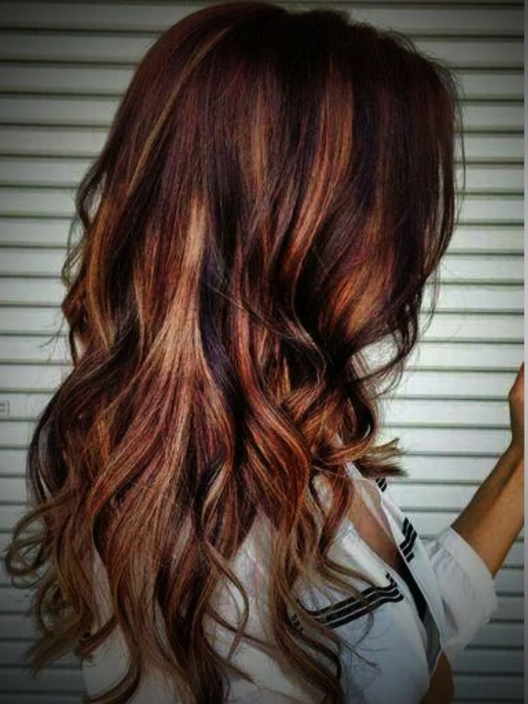10 Most Recommended Red And Blonde Hair Ideas blonde with red highlights popular long hairstyle idea 2020