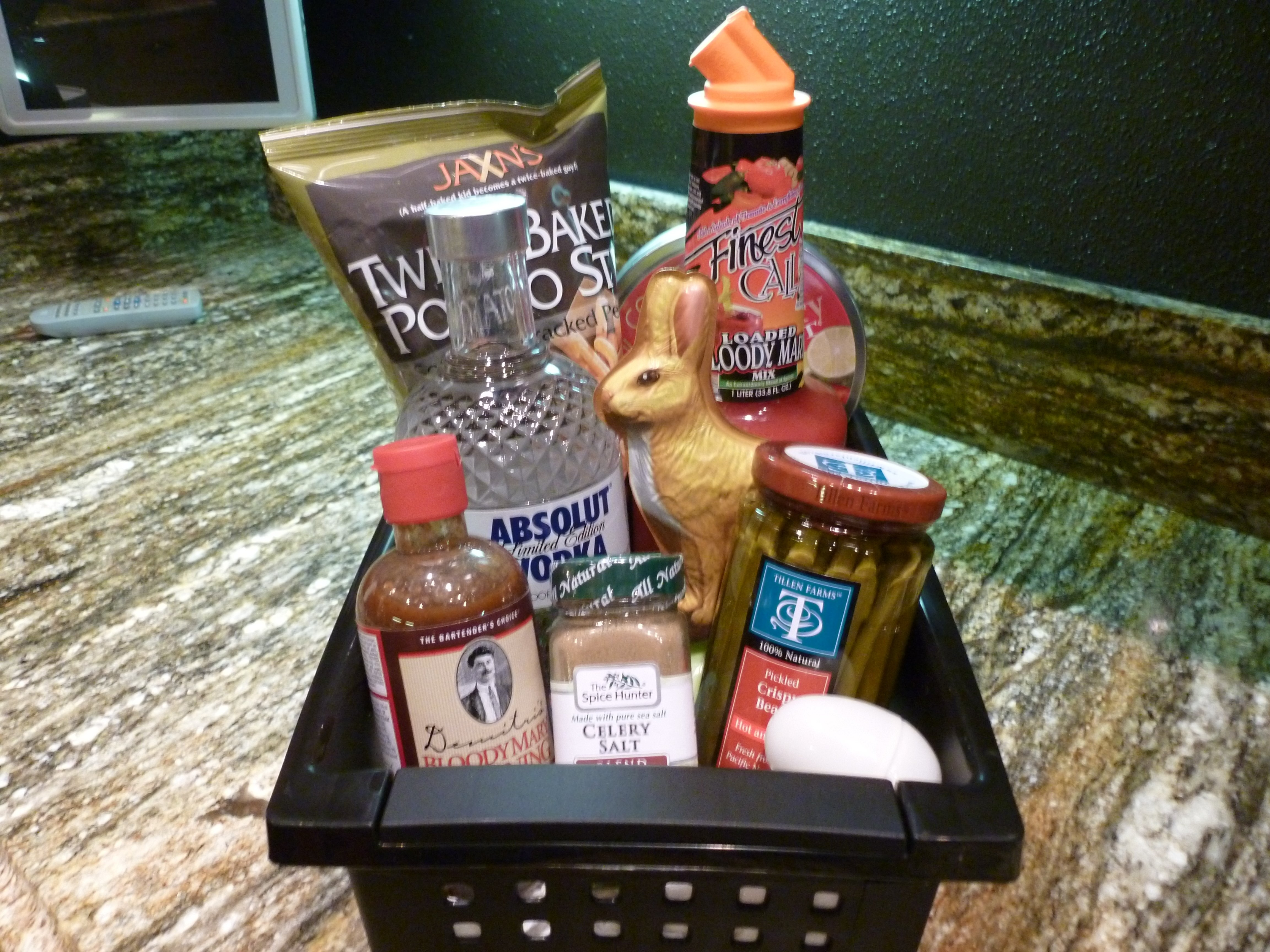 10 most recommended easter basket ideas for adults 10 most recommended easter basket ideas for adults bloody mary adult easter basket gift baskets pinterest negle Gallery