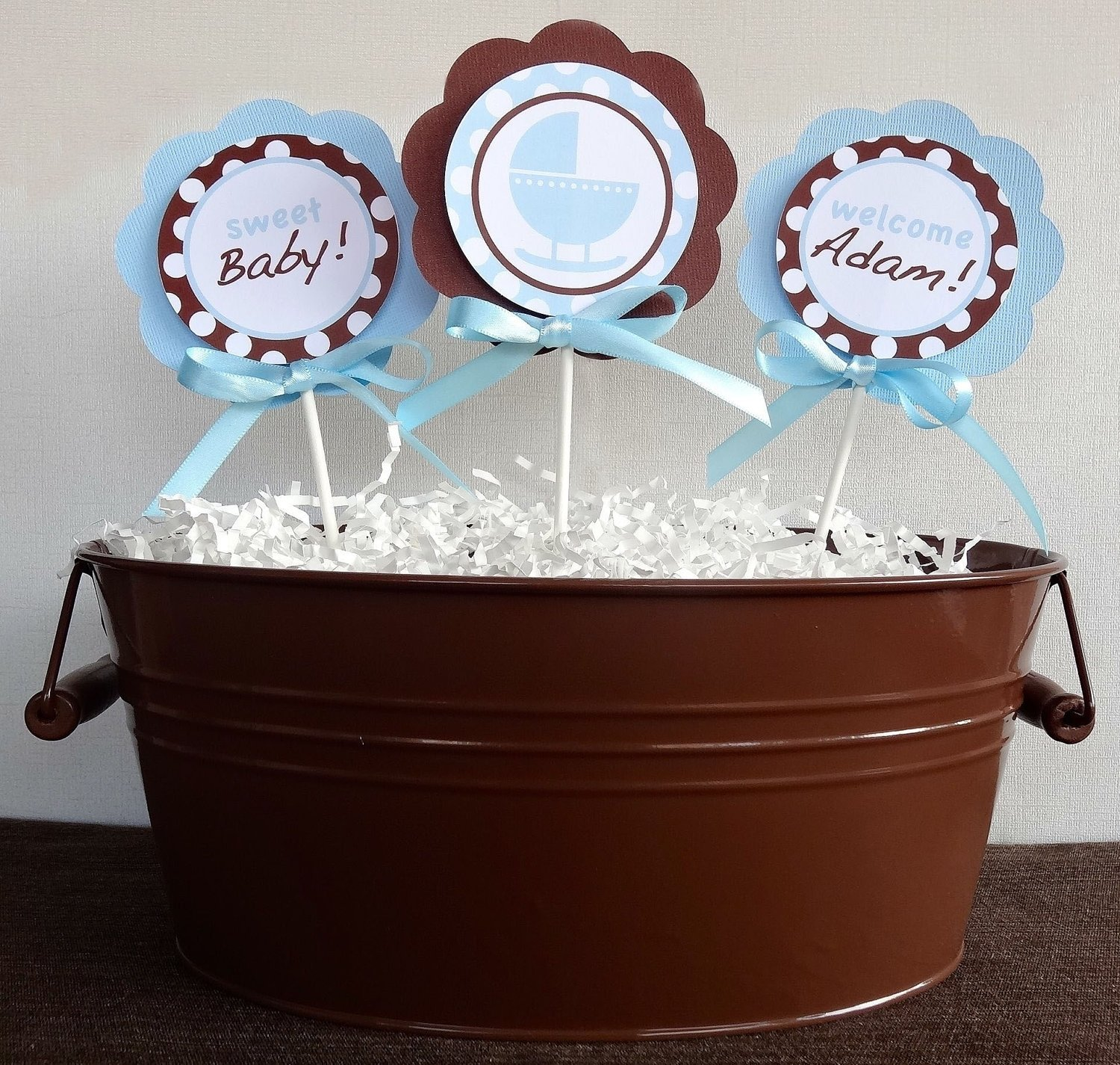 10 Fabulous Blue And Brown Baby Shower Ideas blue and brown baby shower ideas babywiseguides 2020