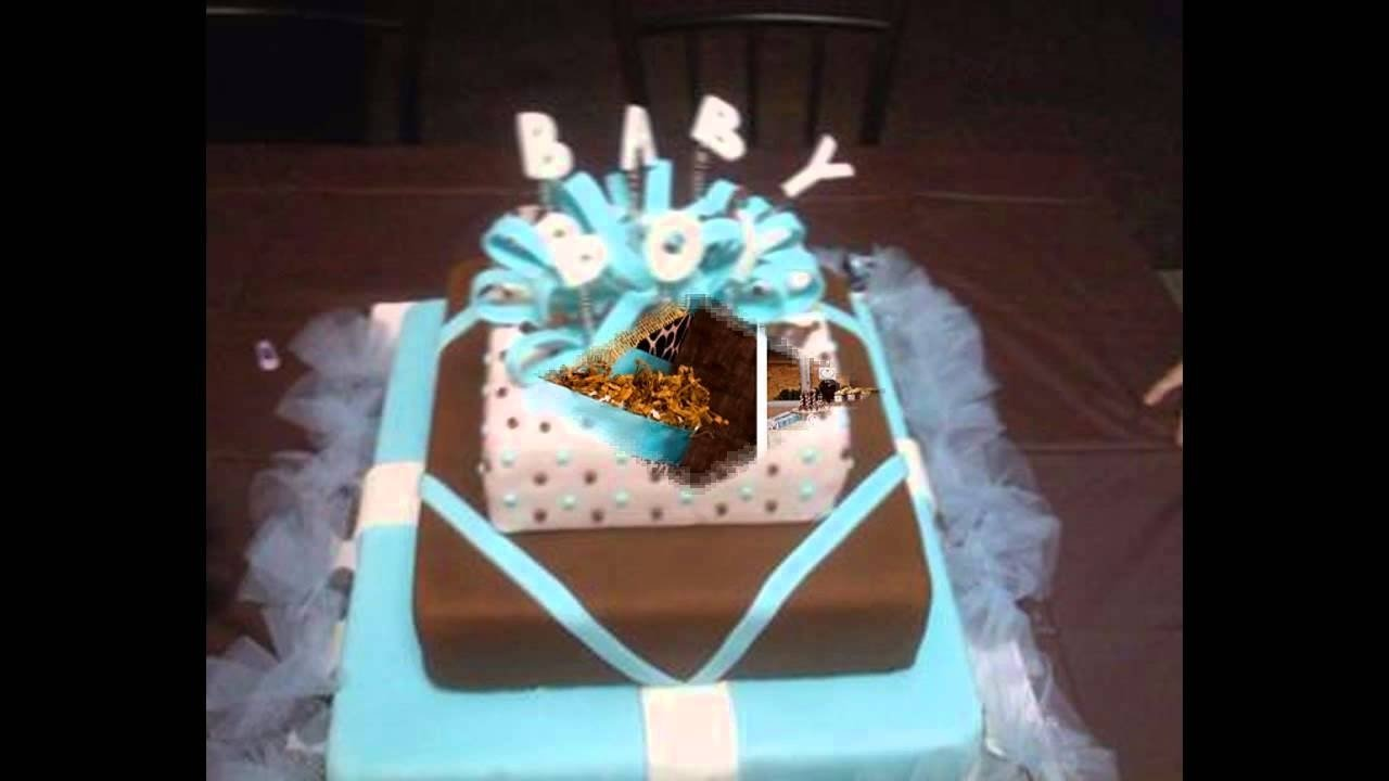 10 Perfect Brown And Blue Baby Shower Decorating Ideas blue and brown home baby shower decorations ideas youtube