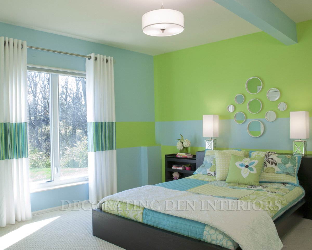 10 Stylish Green And Blue Room Ideas blue and green bedroom decorating ideas home design ideas