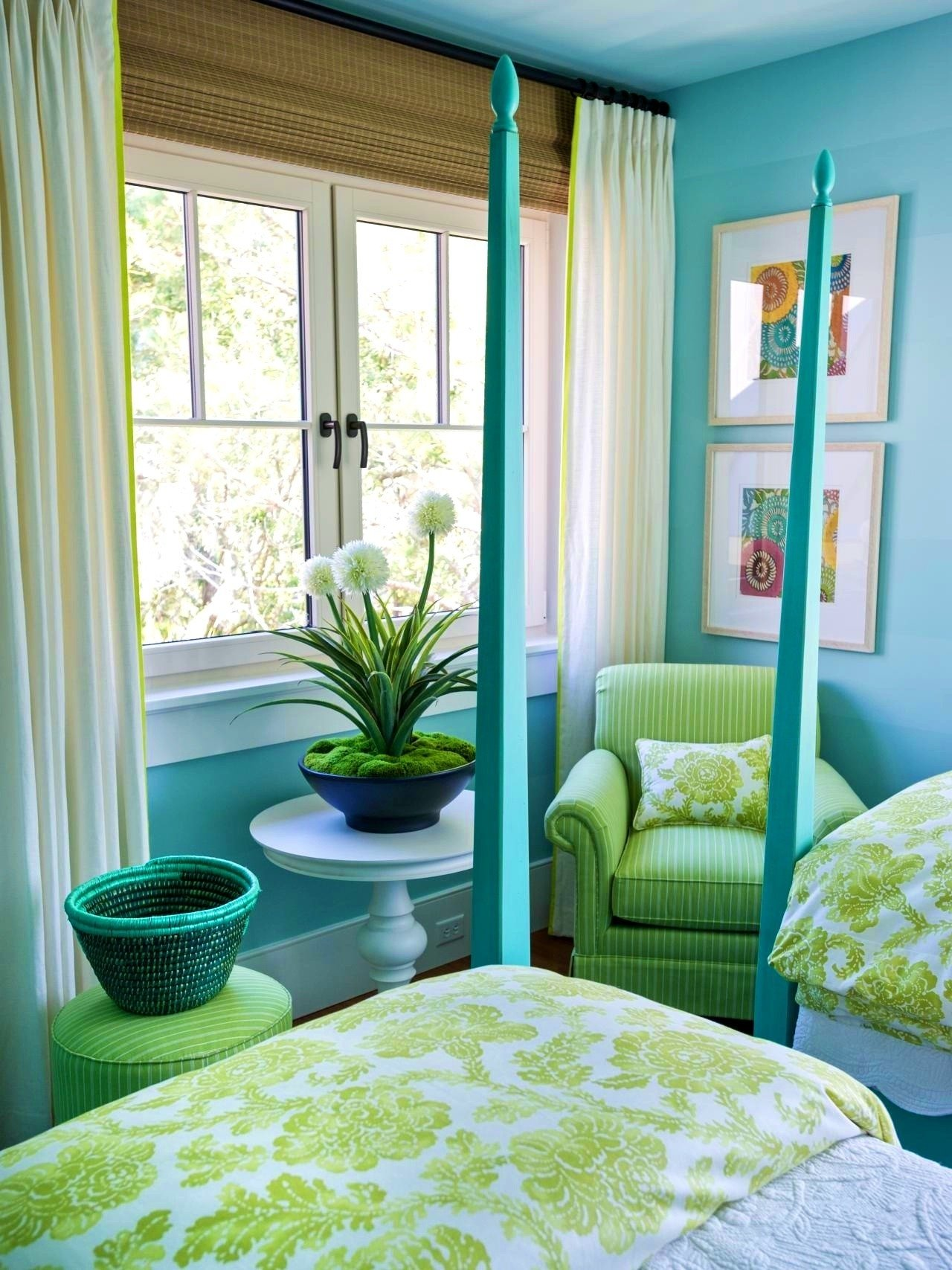 10 Attractive Blue And Green Bedroom Ideas blue and green bedroom decorating ideas new bedroom que blue green 2021