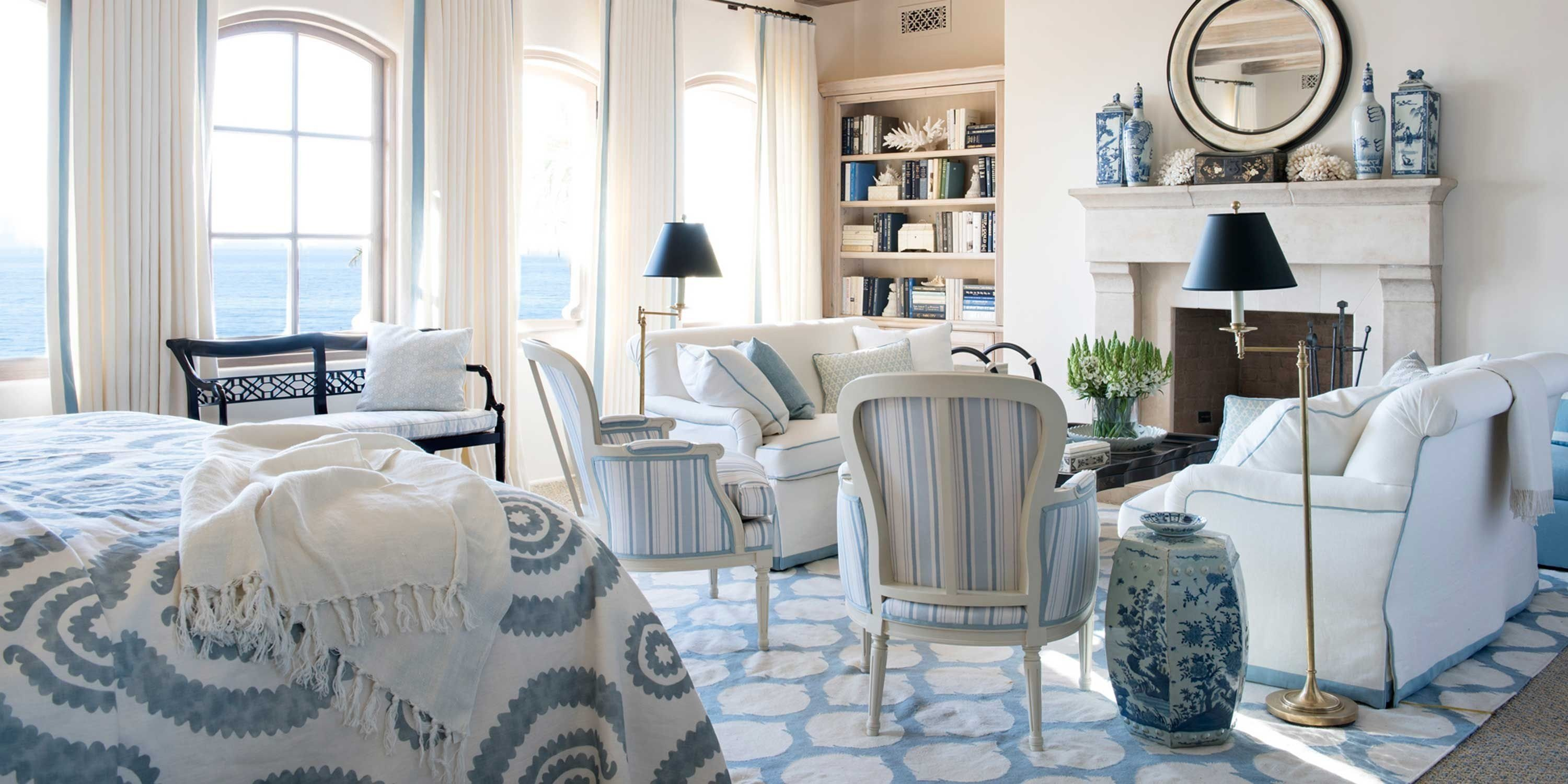 10 Most Recommended Blue Living Room Decorating Ideas blue and white rooms decorating with blue and white 2020