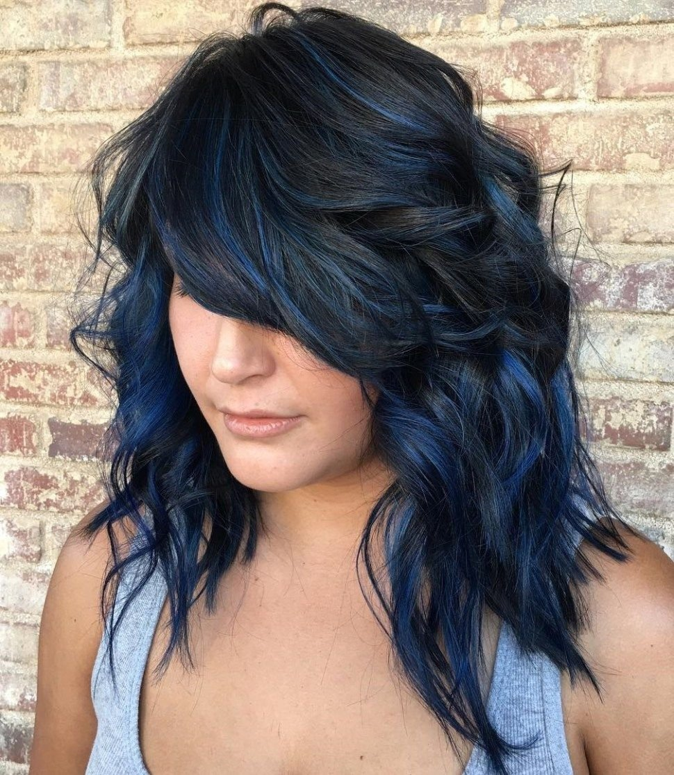 blue black hair: how to get it right | layered hairstyle, black hair