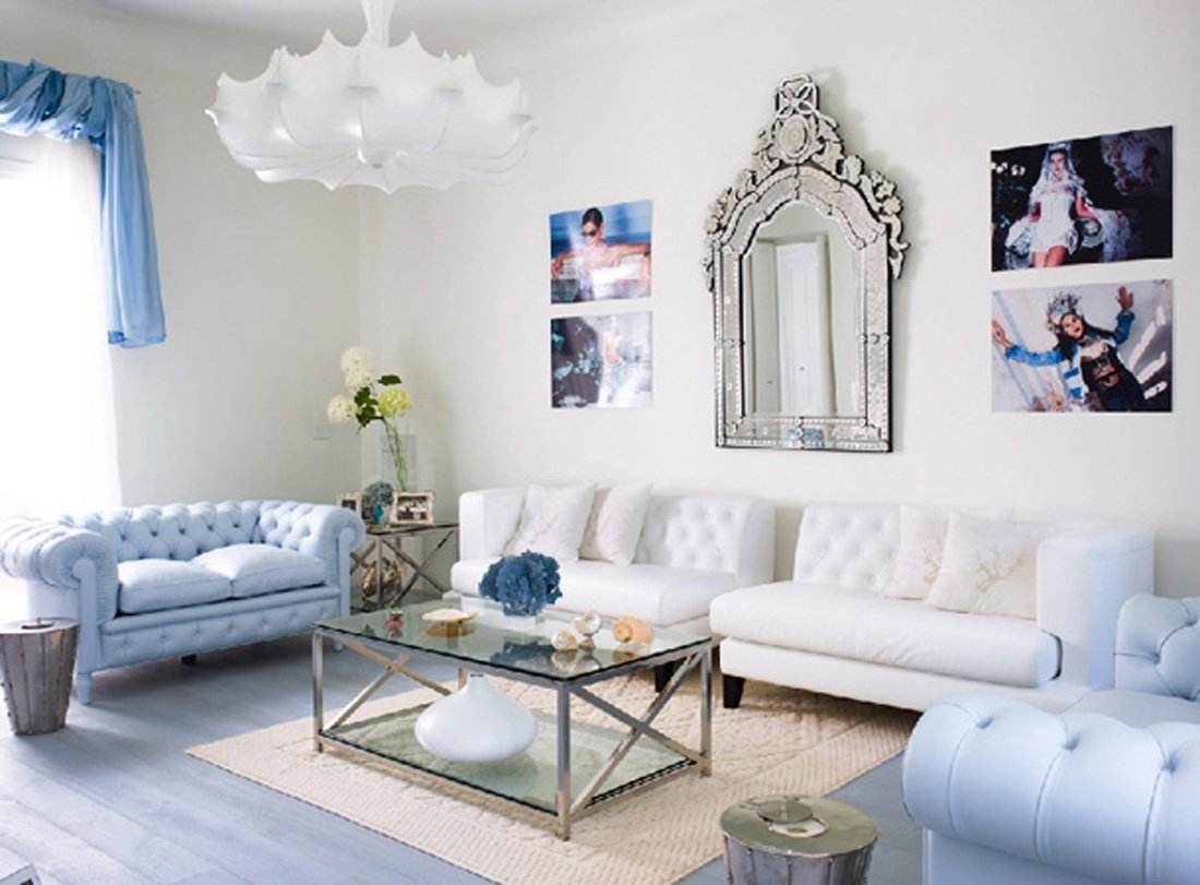 10 Stunning Blue And White Living Room Ideas blue couch living room combination stylid homes blue couch 2021
