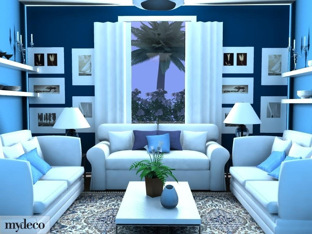 10 Most Recommended Blue Living Room Decorating Ideas blue living room decorating ideas with blue living room homivo 13 2020