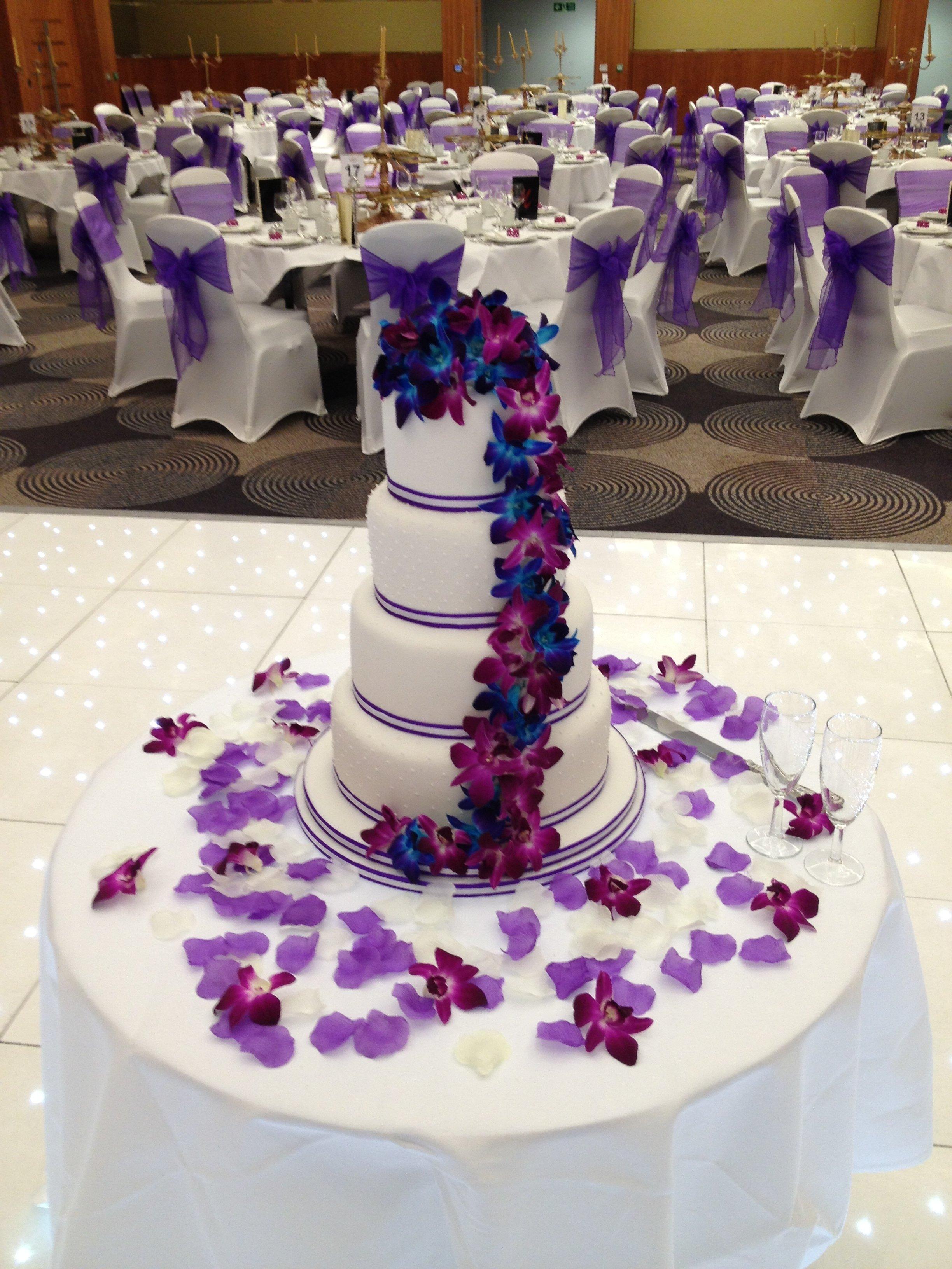 10 Best Turquoise And Purple Wedding Ideas blue purple wedding cakes ideas picture images wedding photos 2020
