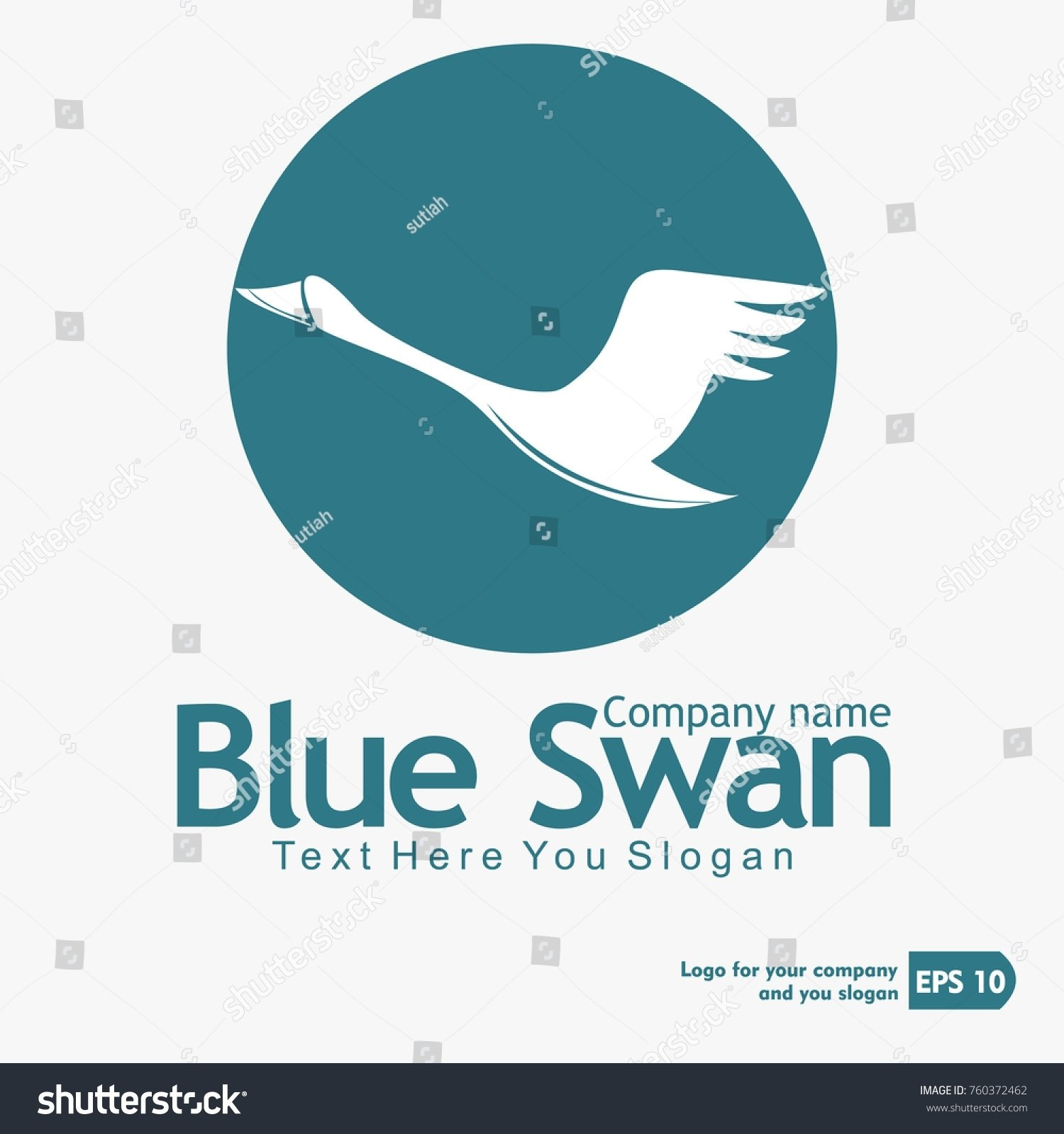 10 Lovable Selling An Idea To A Company blue swan logo design abstract business stock vector 760372462 2021
