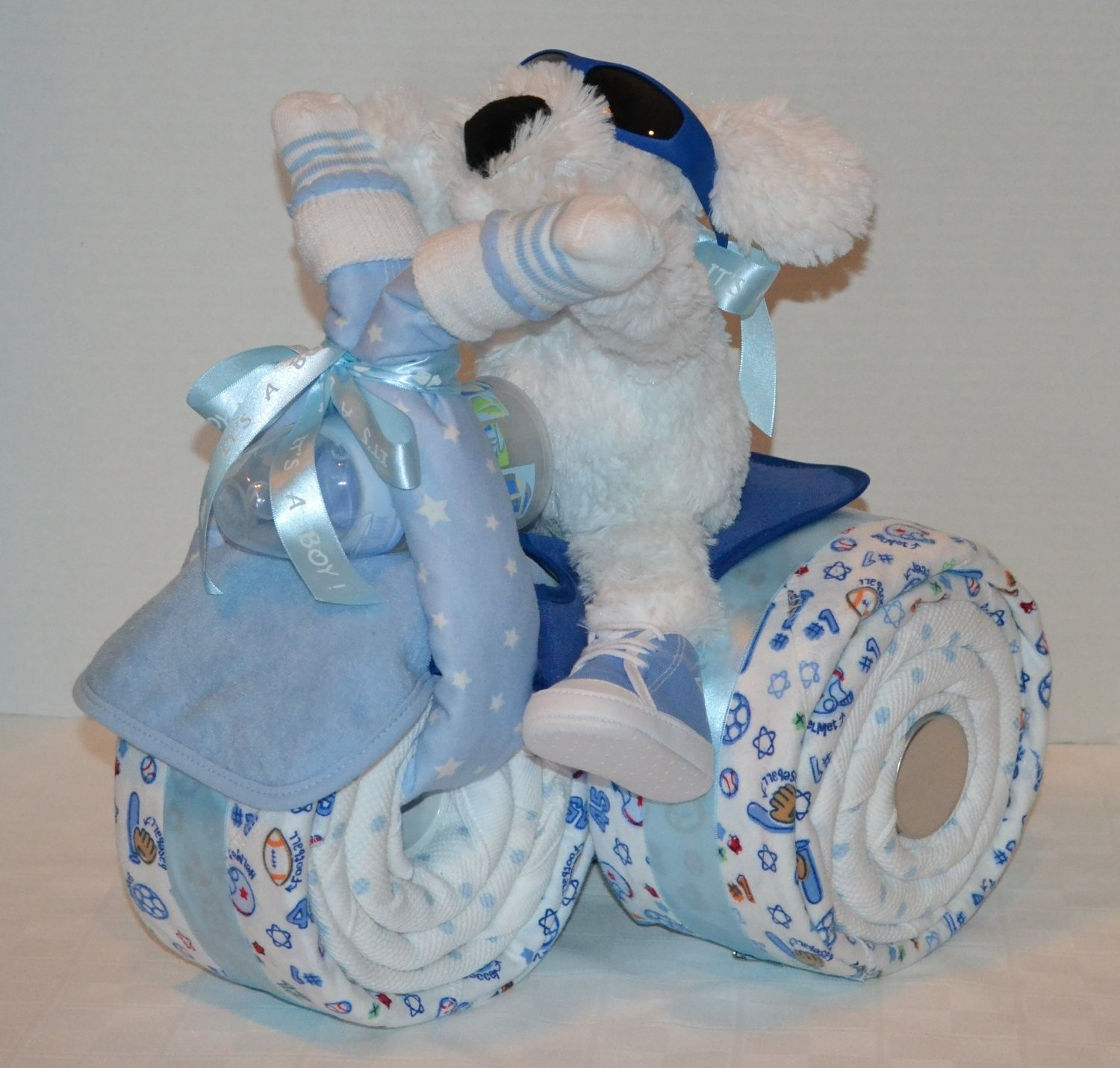 10 Stunning Baby Gift Ideas For Boys blue towel baby shower gift ideas for boys baby shower ideas gallery 2020