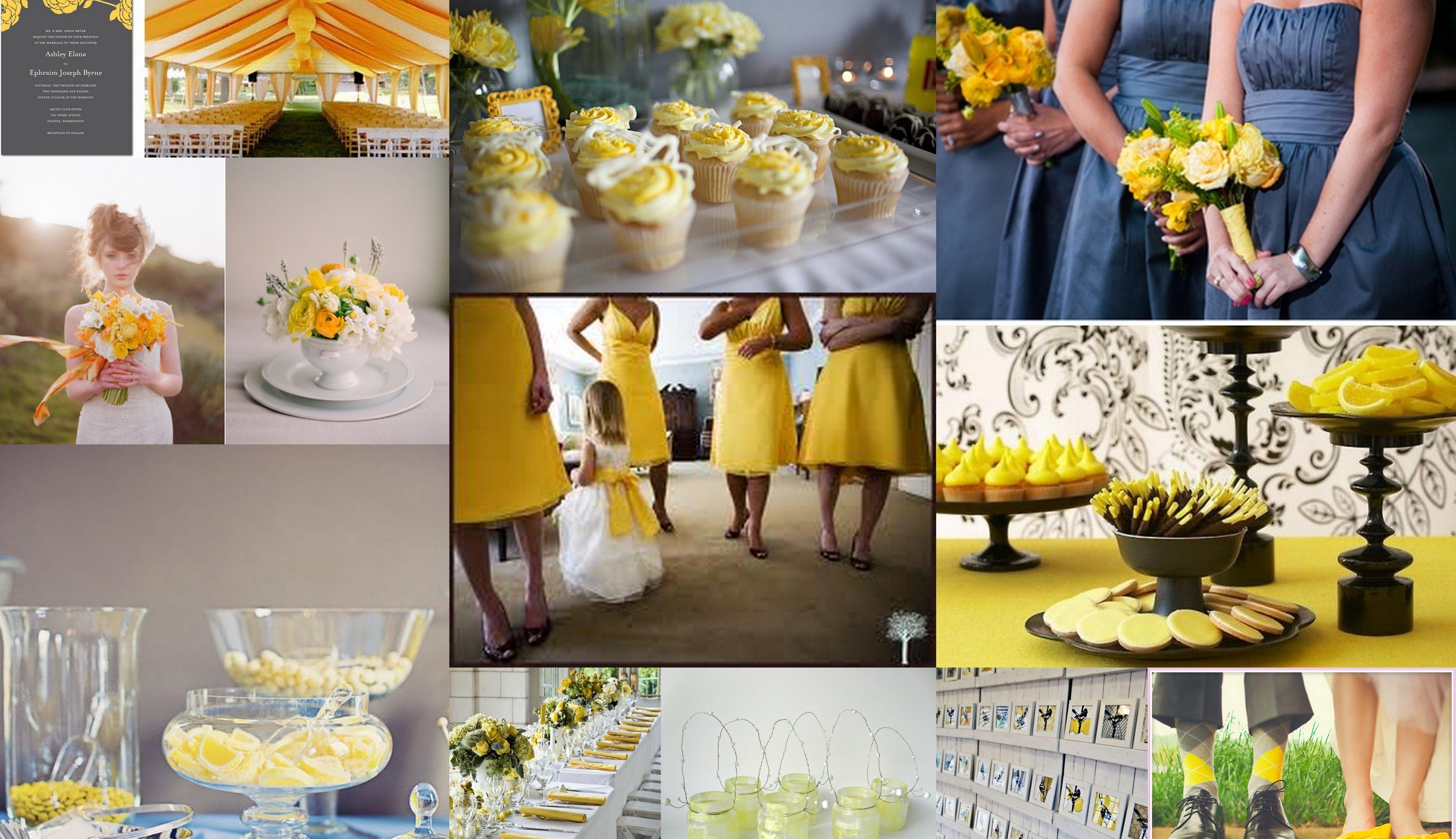 10 Gorgeous Navy Blue And Yellow Wedding Ideas blue yellow wedding decorationdeasyellow anddeas navy eilag