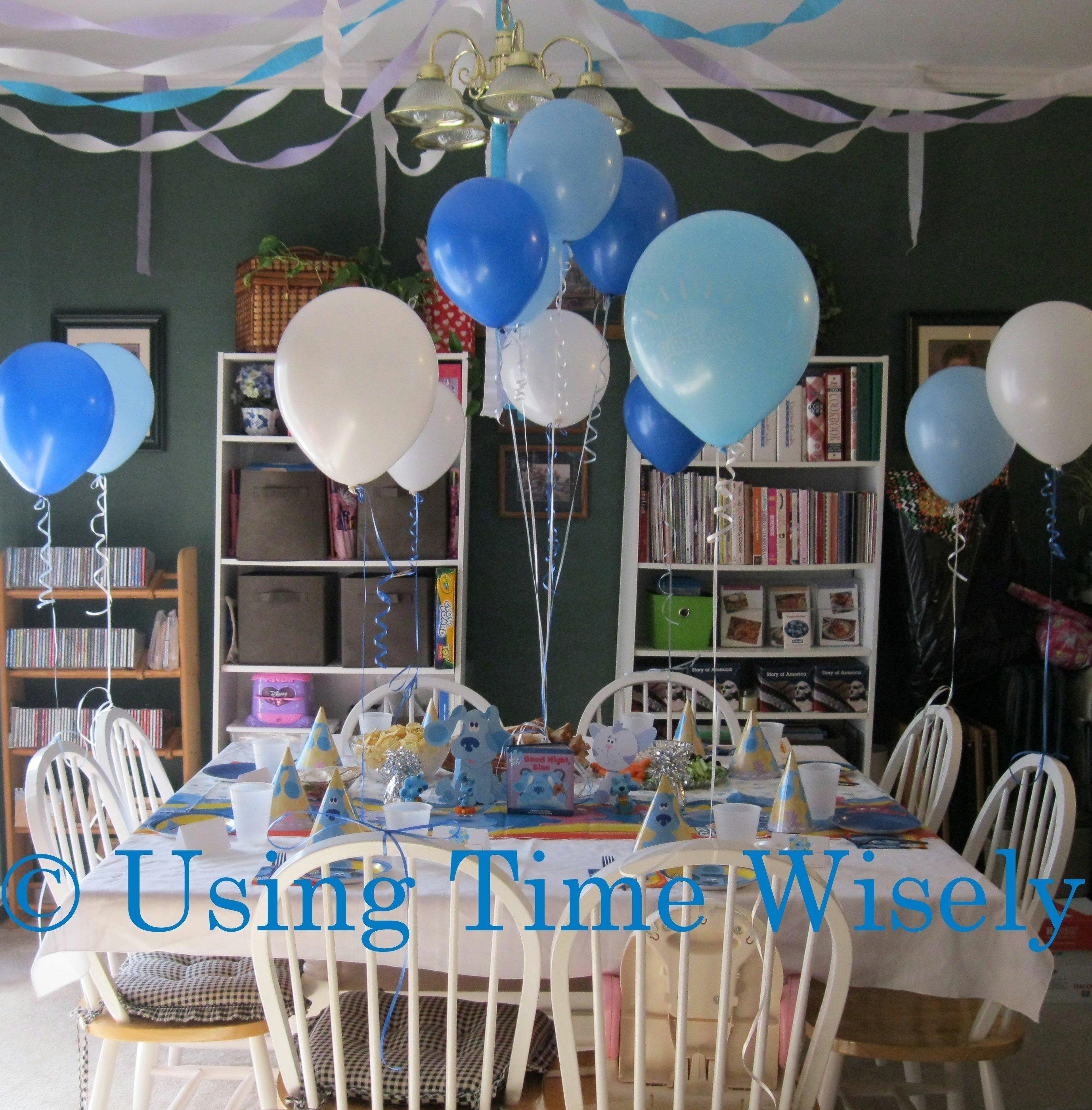 10 Wonderful 3 Year Old Party Ideas blues clues birthday decorations my birthday pinterest blues 2021