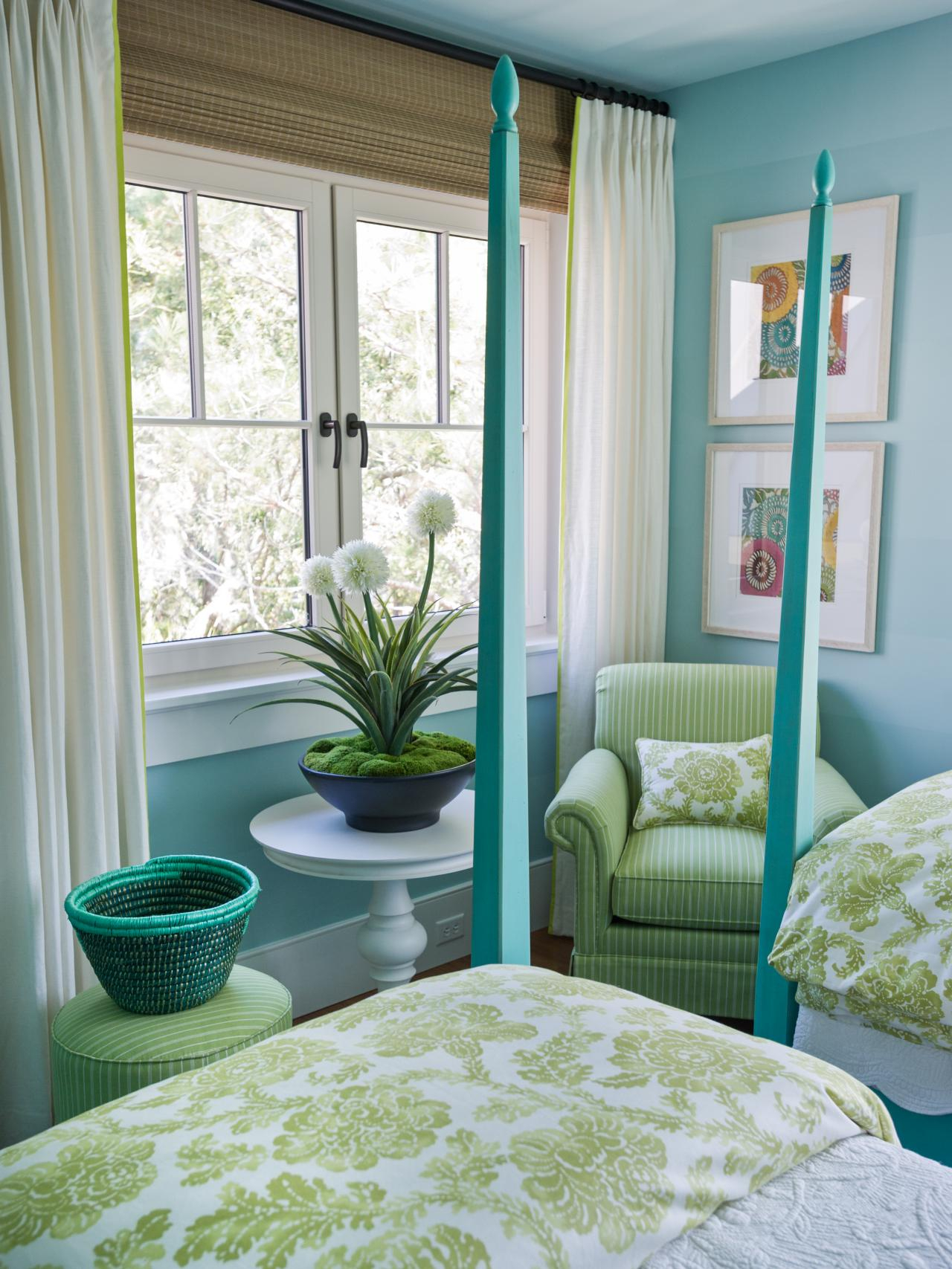 10 Stylish Green And Blue Room Ideas %name