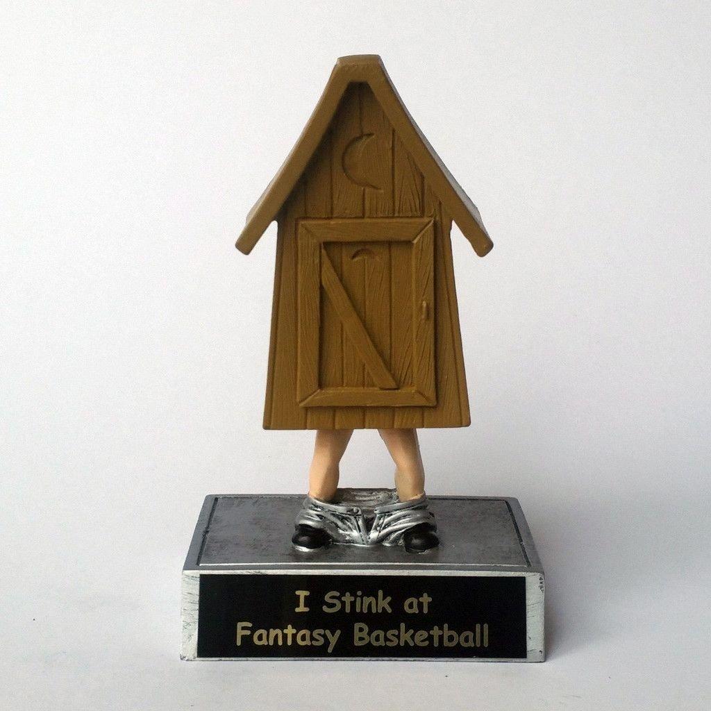 10 Most Popular Last Place Fantasy Football Ideas bobble head outhouse award fantasy football fantasy league and 2020