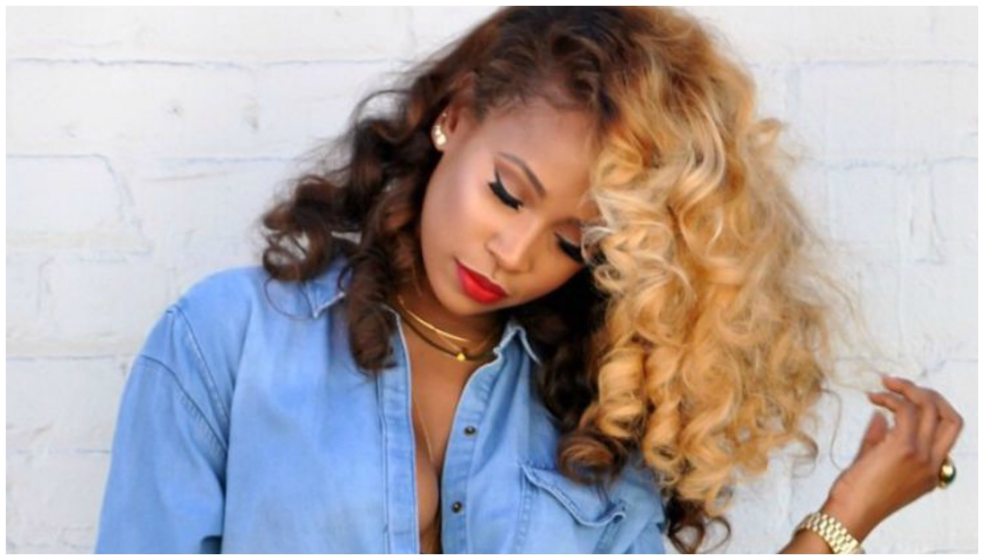 bold hair color ideas for black women - youtube
