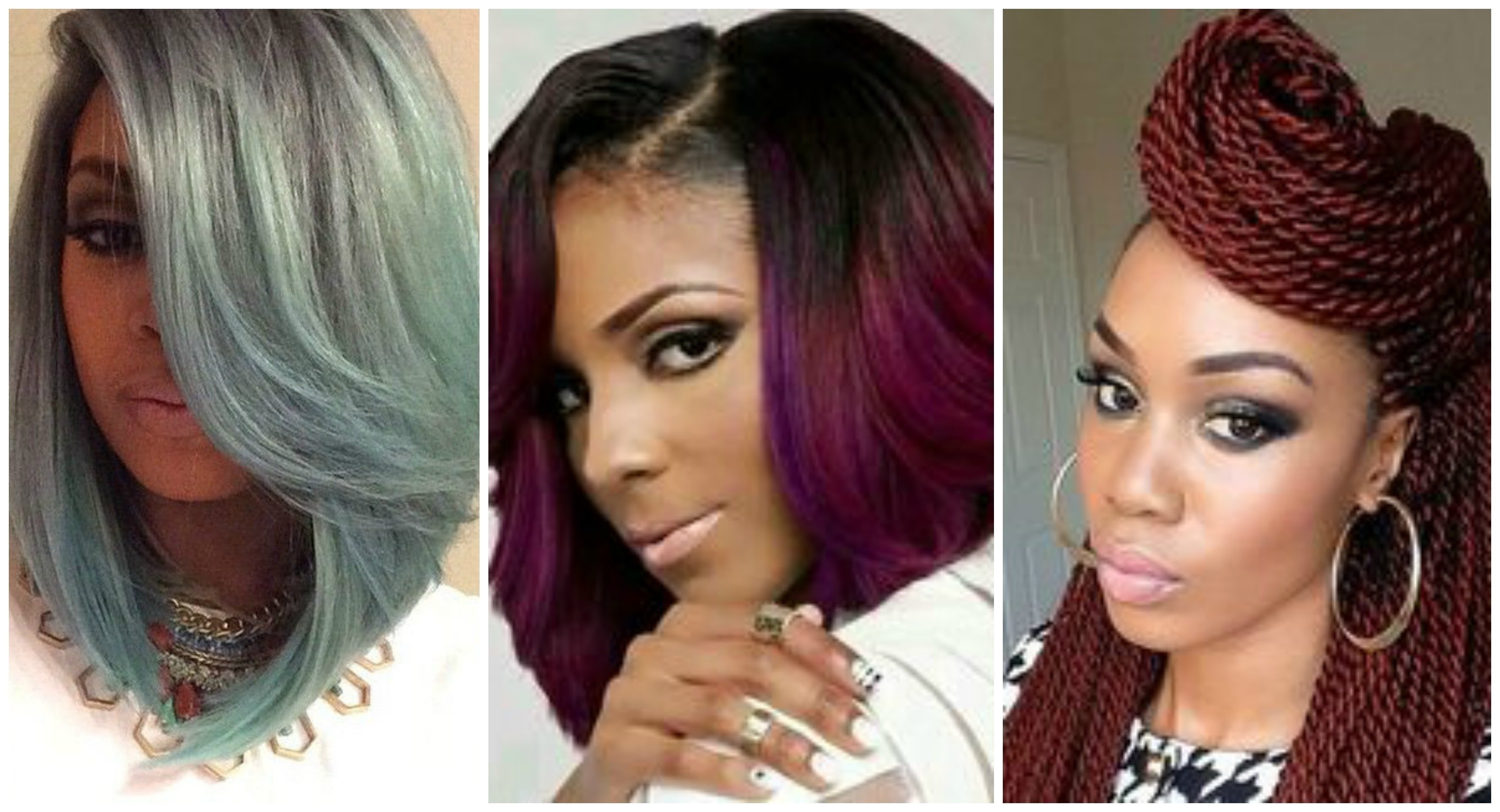 10 Great Hair Color Ideas For African American Hair bold hair color ideas for black women youtube african american 2020