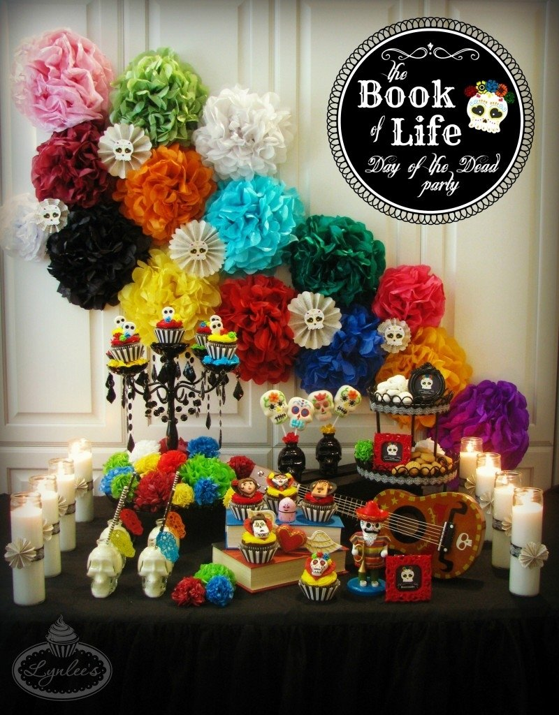 10 Fabulous Day Of The Dead Party Ideas book of life party for the day of the dead lynlees 1 2021