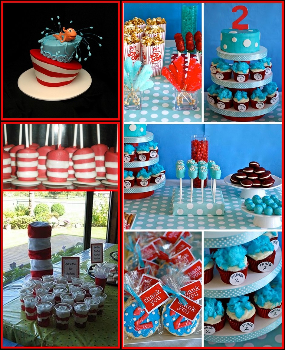 10 Nice Cat In The Hat Birthday Ideas book themed parties eventful possibilities 2020