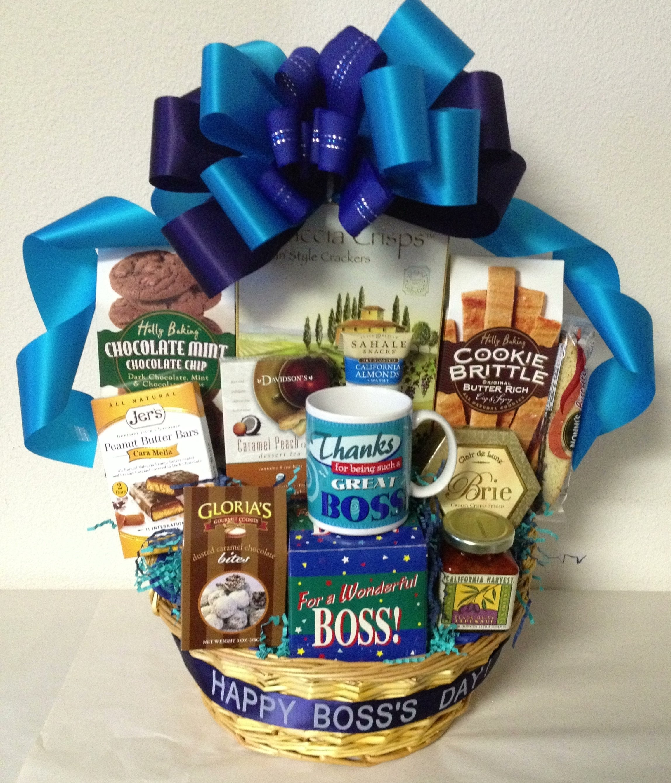 boss's day gift baskets | san diego gift basket creations