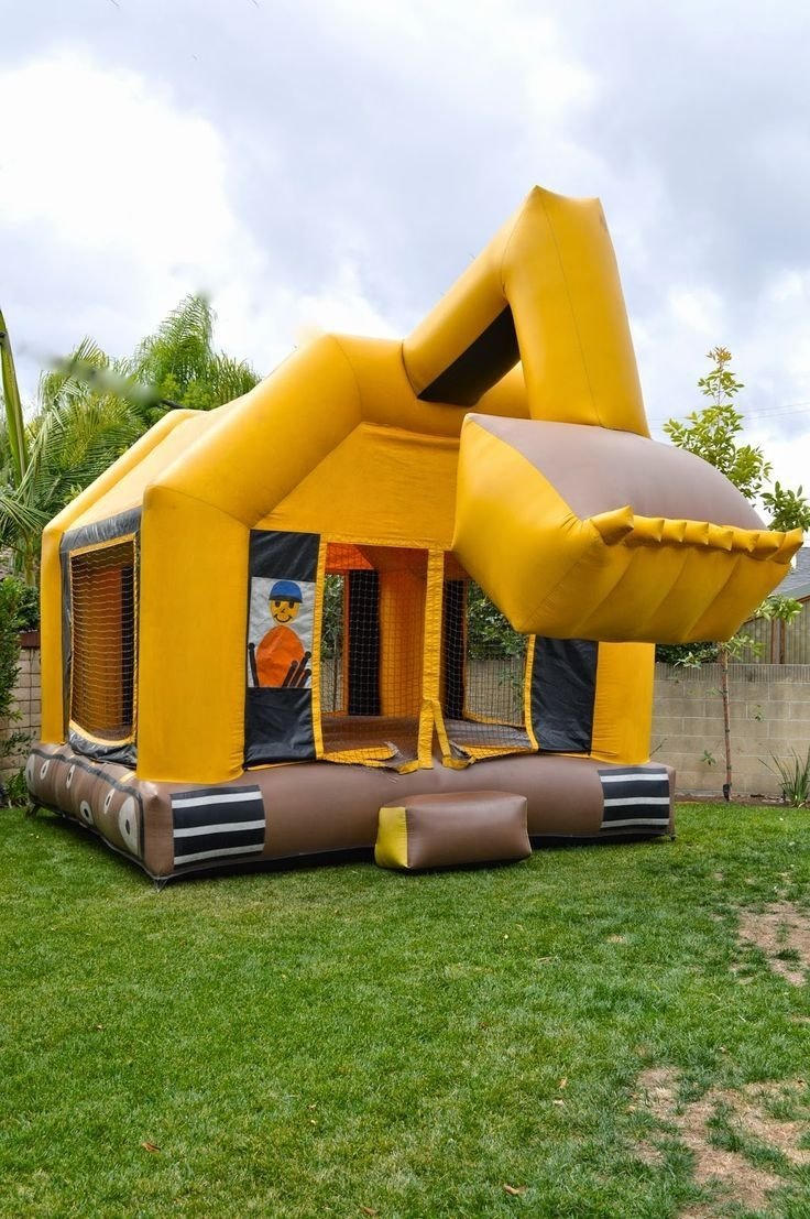10 Fashionable Bounce House Birthday Party Ideas bounce house birthday party ideas 2021