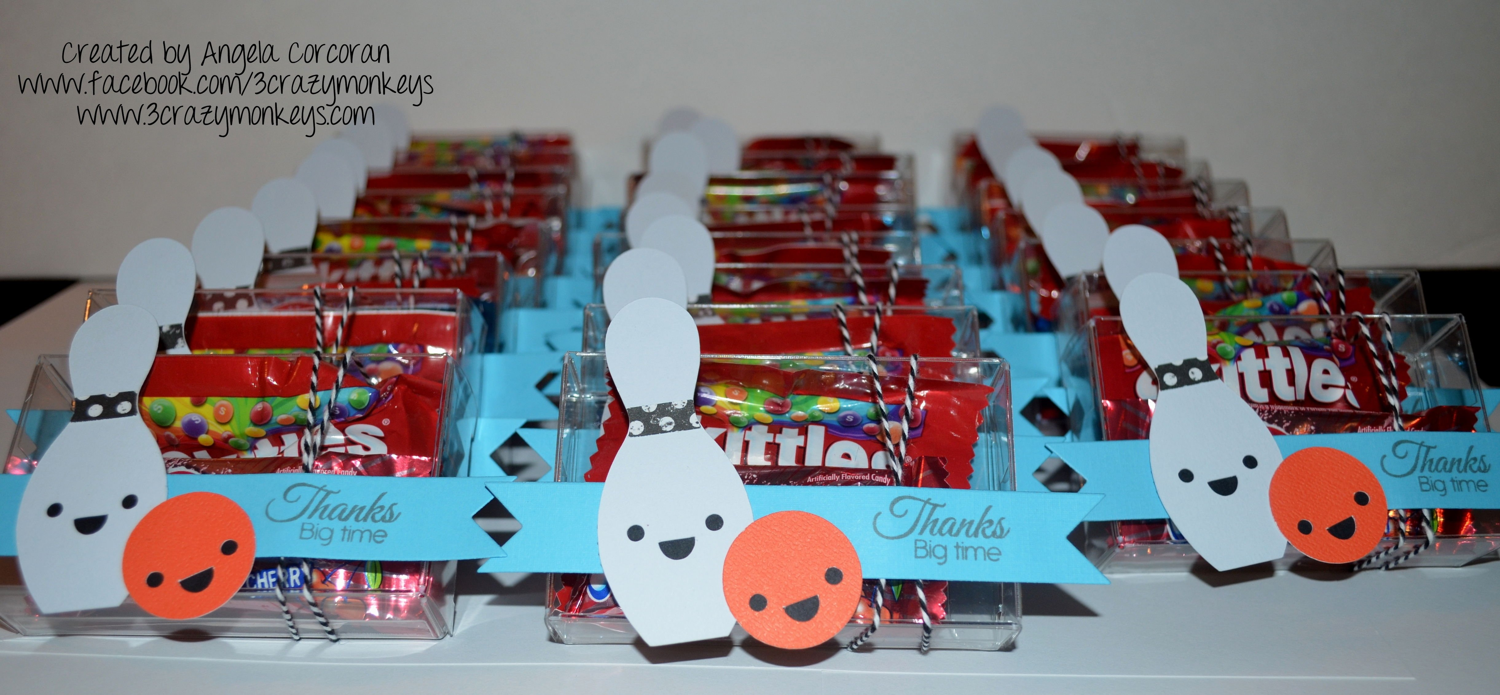 bowling birthday party favors ideas - decorating of party