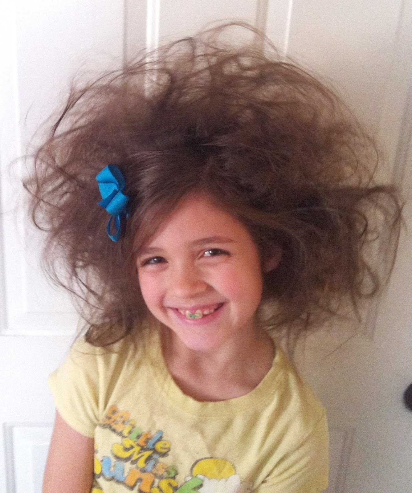 10 Perfect Easy Crazy Hair Day Ideas bowsweet tuesday tips crazy hair day ideas 1 2020