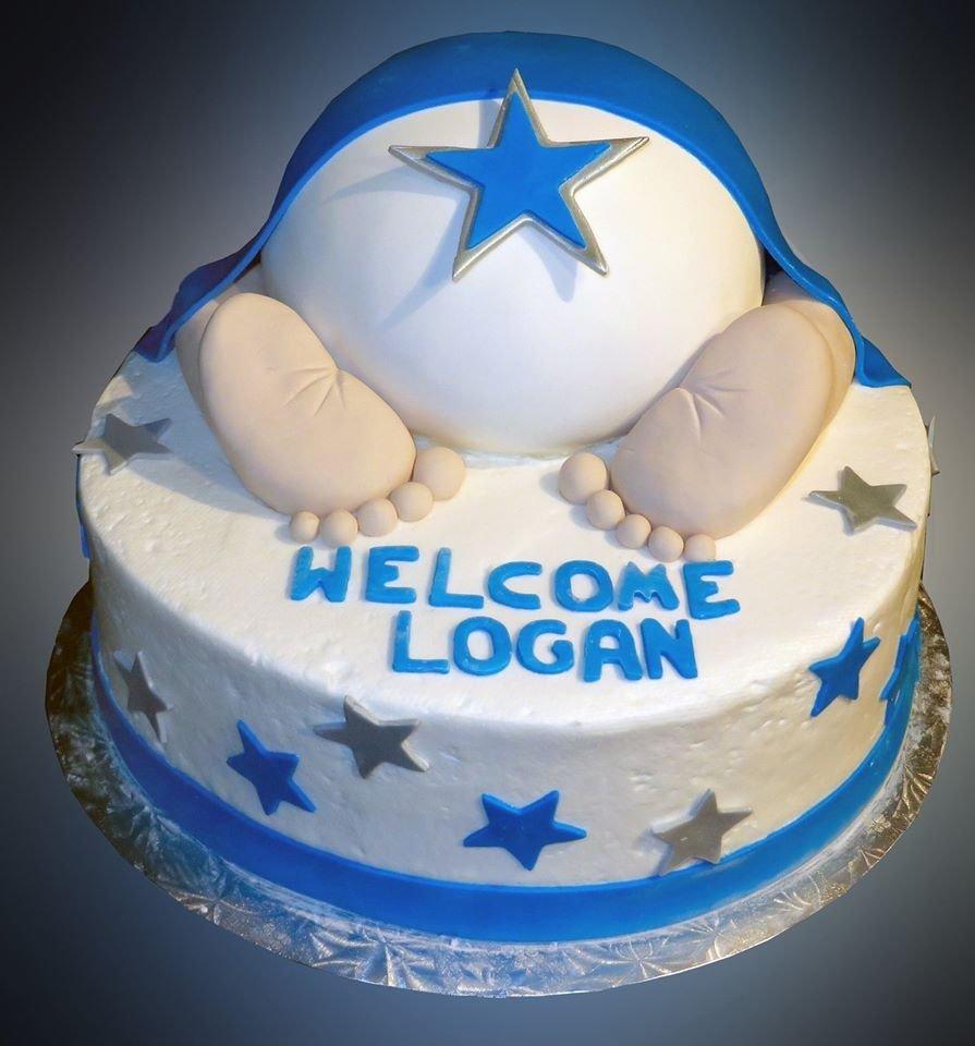 10 Stunning Baby Boy Baby Shower Cake Ideas boy baby shower cake sweet somethings desserts 2 2020