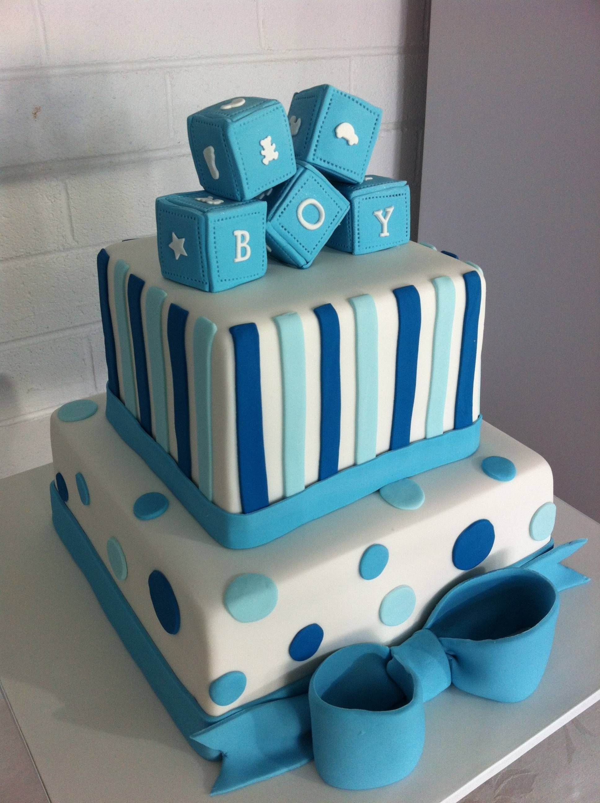 10 Great Baby Shower Cake Ideas For Boy boy baby shower cakes cakesdesign our new creations other 7 2020