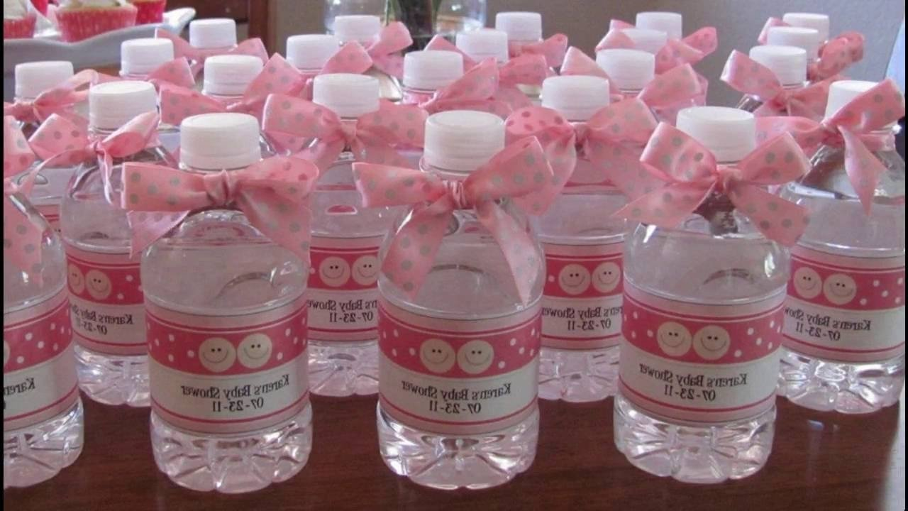 10 lovely girl baby shower favor ideas