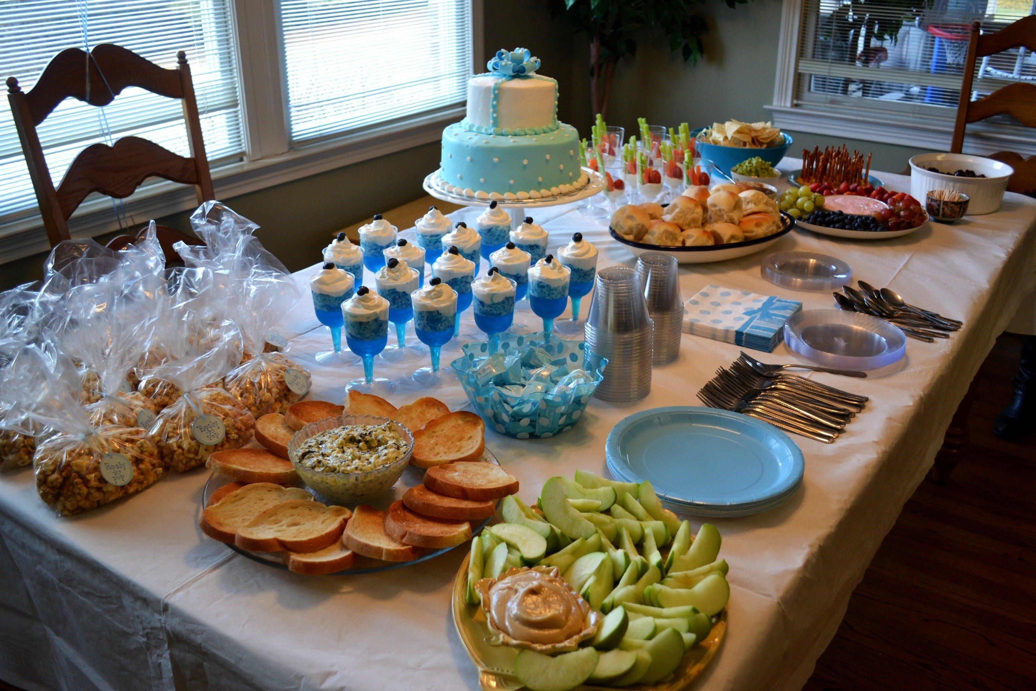 10 Stylish Food For Baby Shower Ideas boy baby shower food ideas wedding 2020