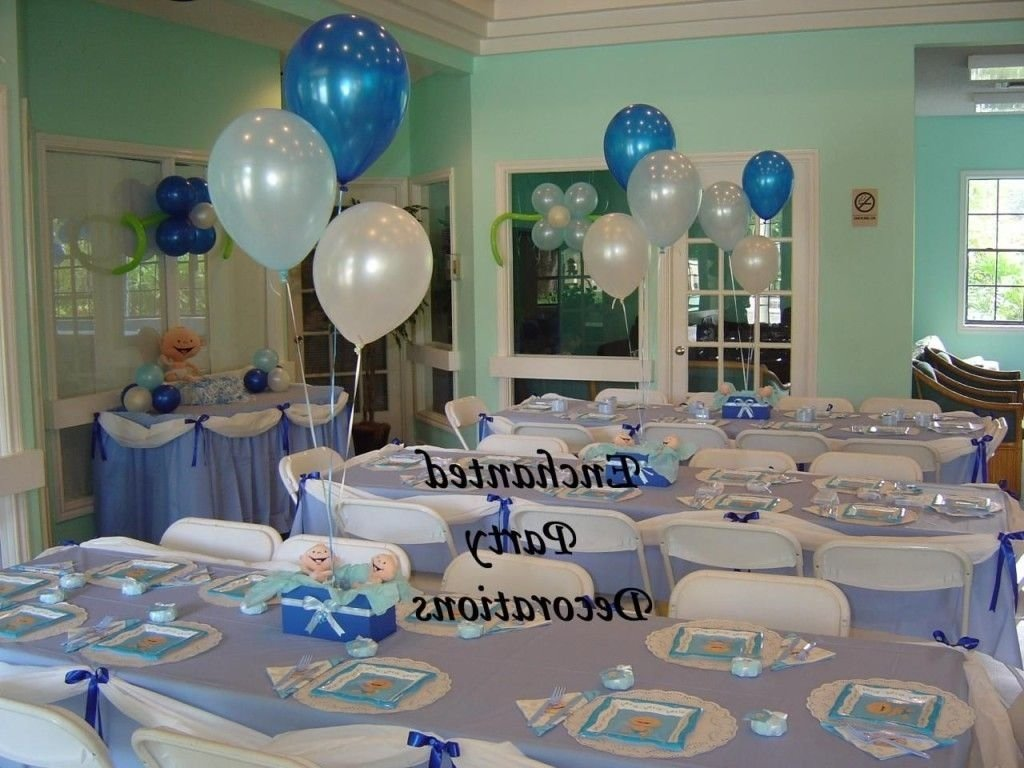 boy baby shower table decoration ideas | table designed | pinterest