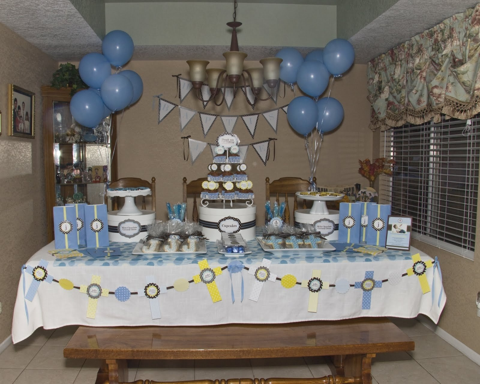 10 Famous Baptism Party Ideas For Boys