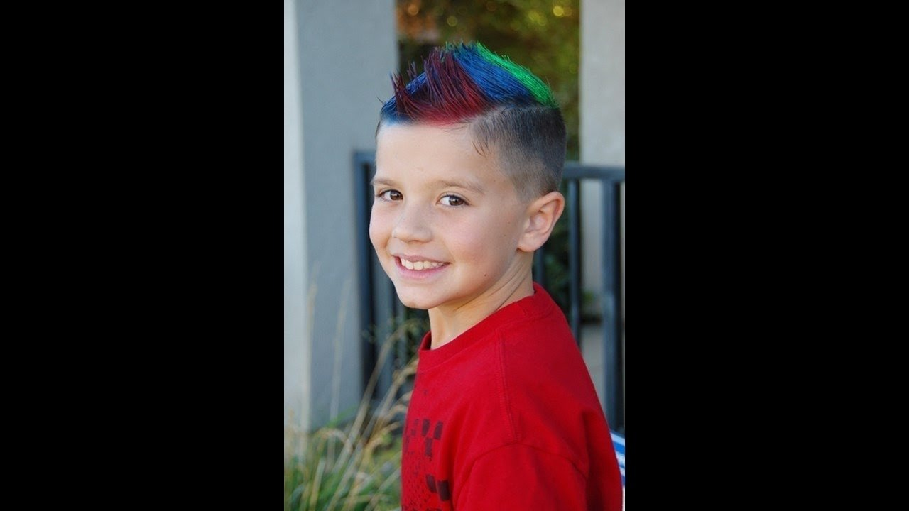 boy crazy hair day ideas - youtube