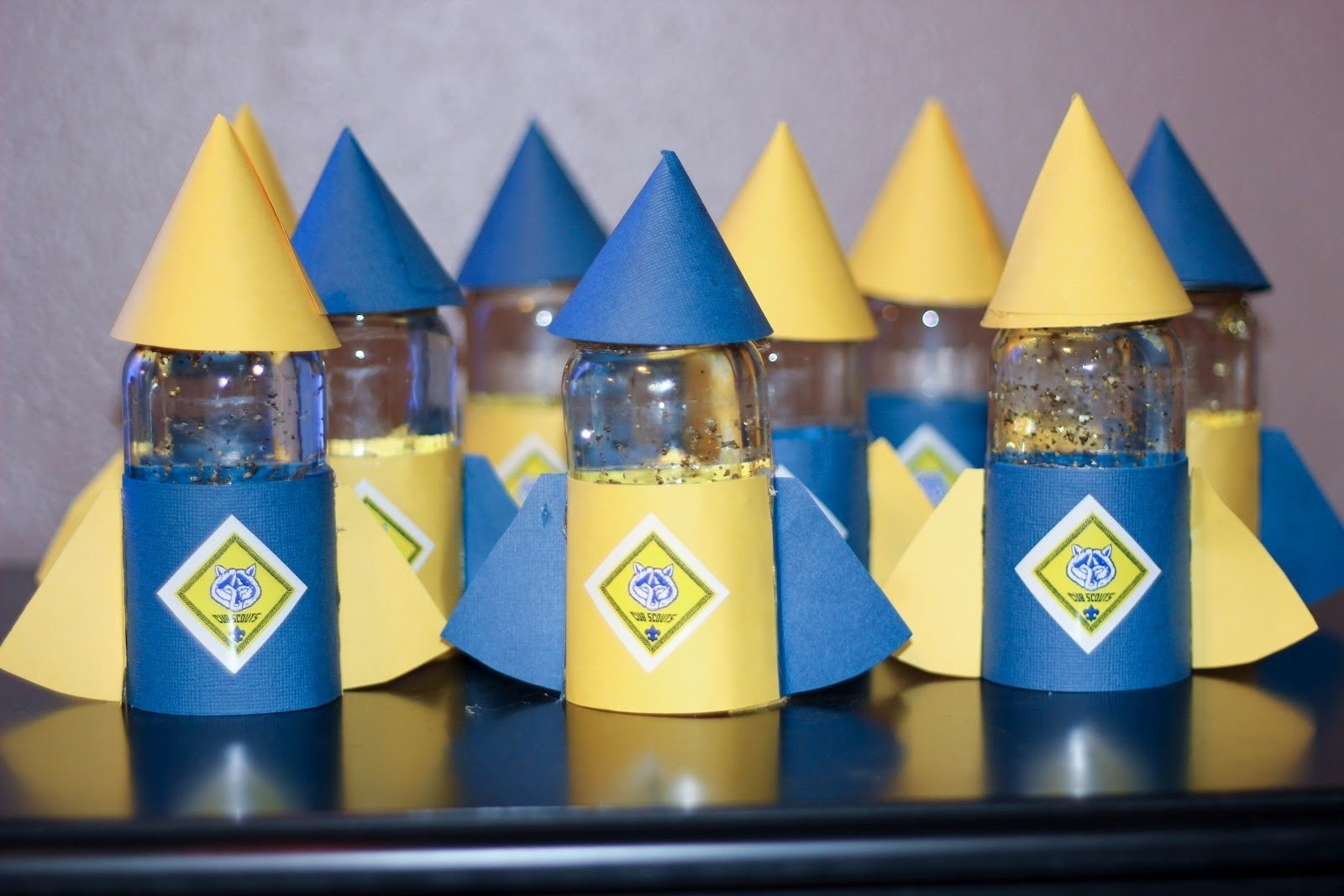 10 Stylish Cub Scout Blue And Gold Banquet Ideas boy scout blue and gold banquet centerpiece ideas blue and gold 2020
