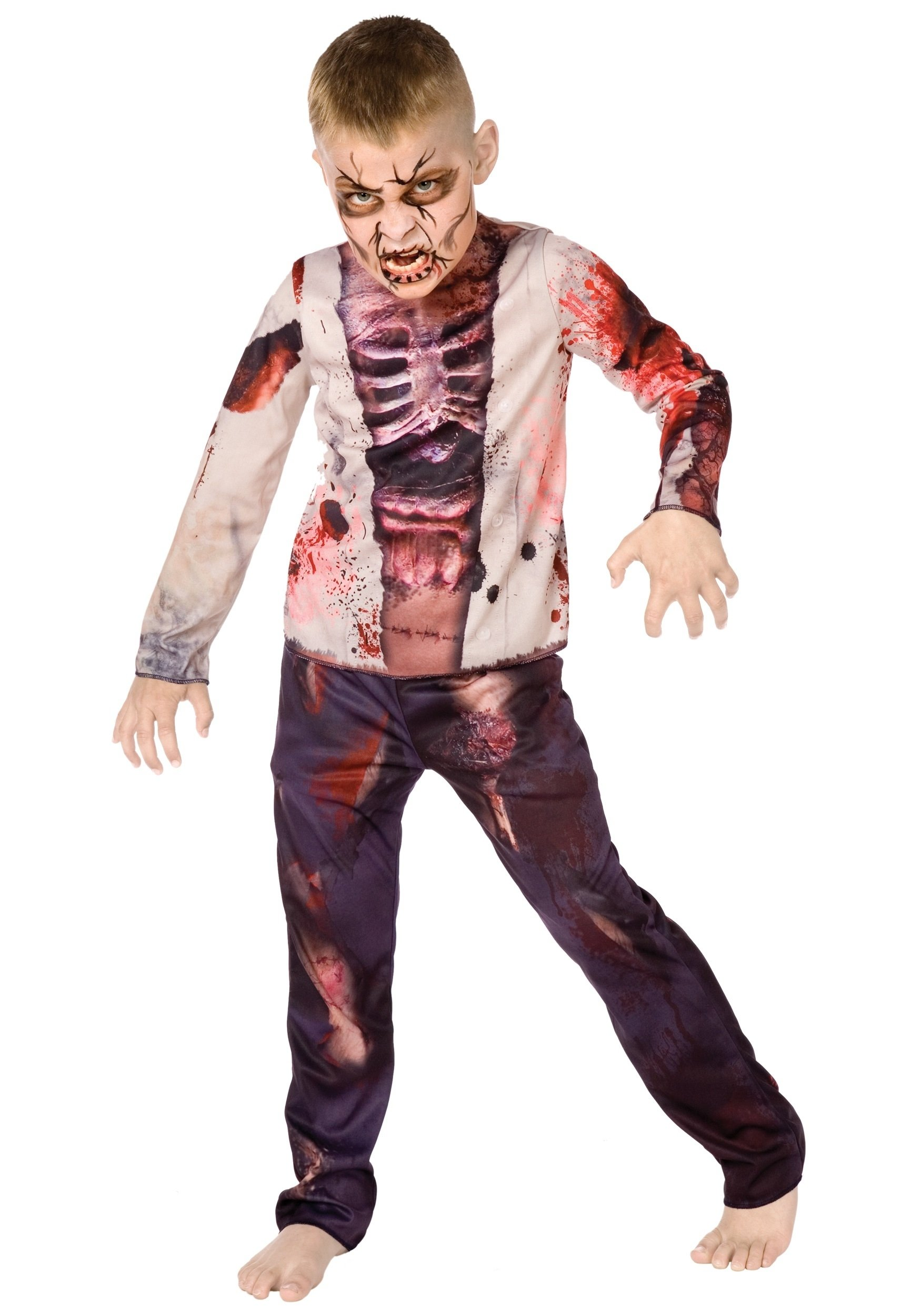 10 Attractive Zombie Costume Ideas For Kids boy zombie costume 2021