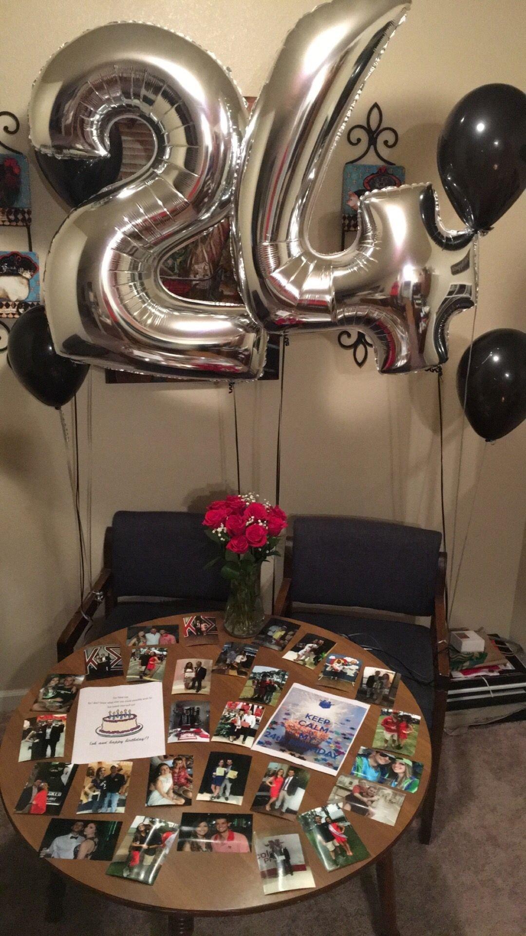 10 Stylish Surprise Birthday Ideas For Boyfriend boyfriend 24th birthday party pinterest 24th birthday 2020