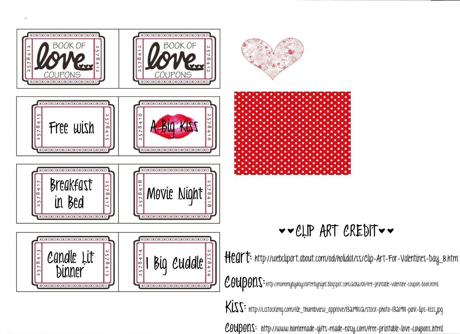 10 Unique Coupon Book Ideas For Husband boyfriend coupon book ideas valentines day pinterest diy 2 2021