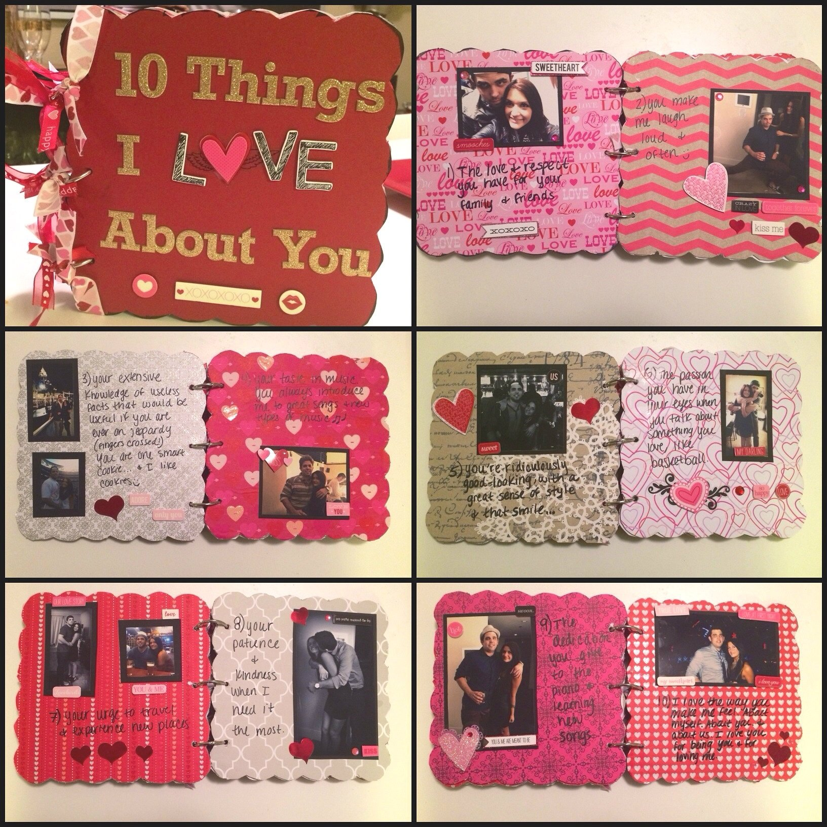 10 Most Popular Gift Ideas For My Boyfriend boyfriend gift idea chipboard scrapbook twinspiration 2020