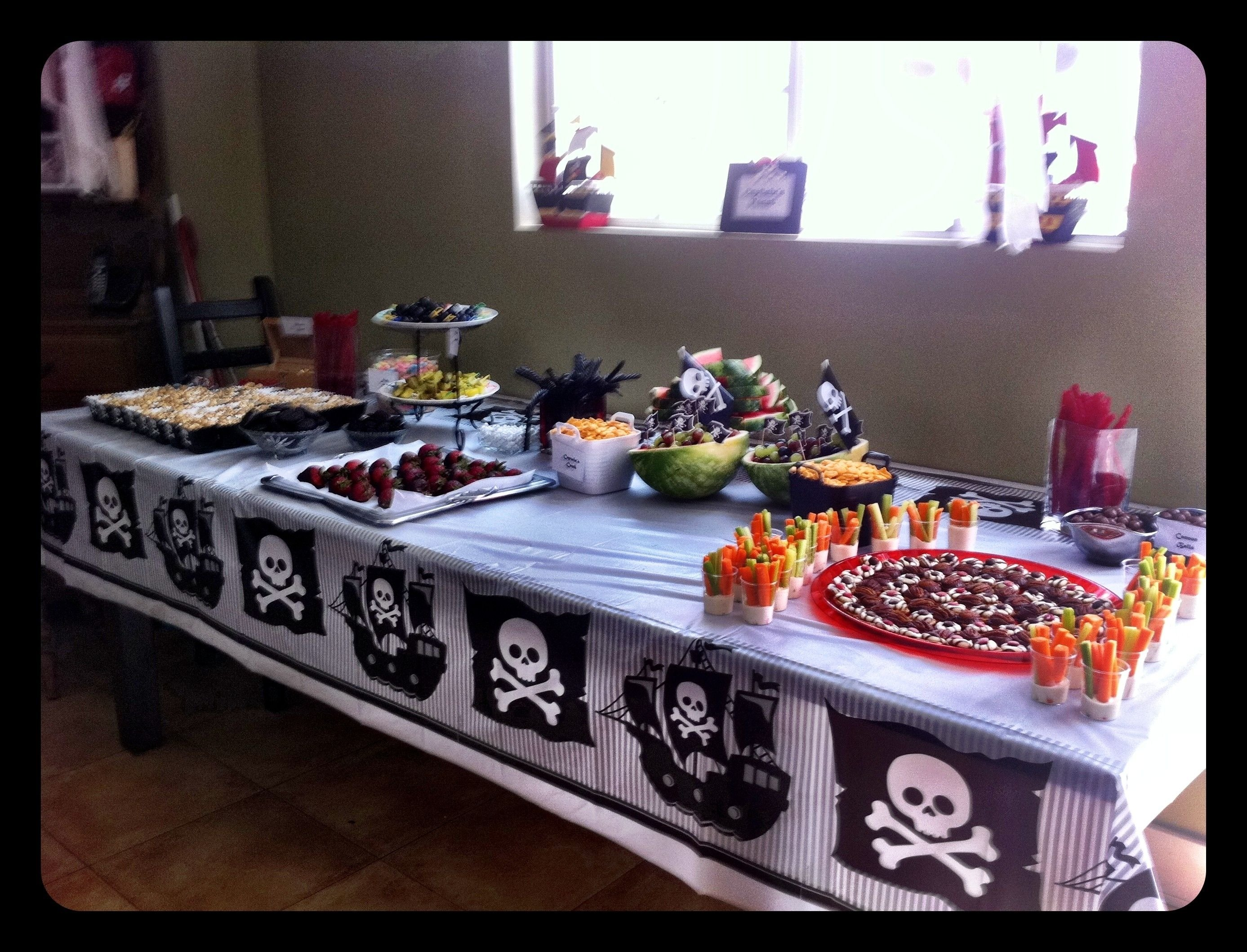 10 Fabulous 6 Year Old Birthday Ideas boys 6 year old pirate birthday party pirate party pinterest