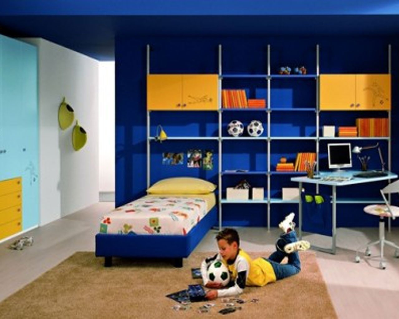 10 Wonderful Small Bedroom Ideas For Boys boys bedroom ideas and themes stylid homes 1 2020