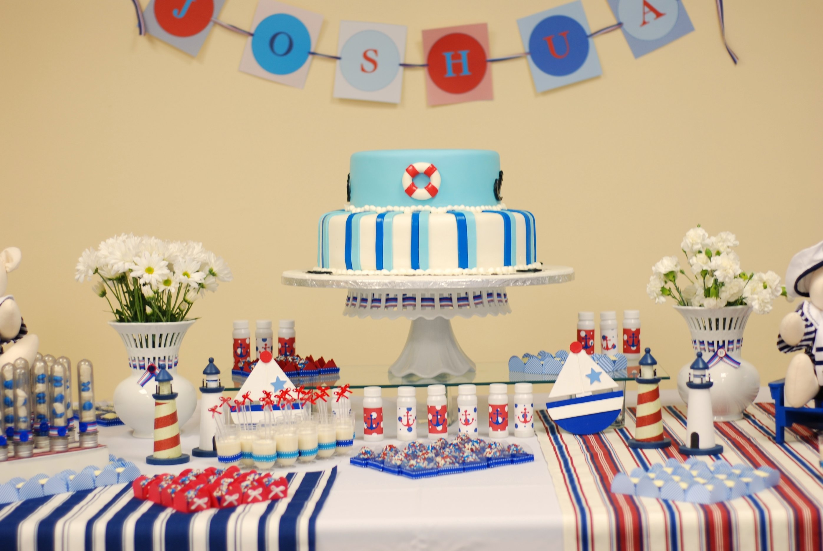10 Stylish 1St Birthday Party Decoration Ideas boys birthday party decoration ideas decorideaz decorideaz 4