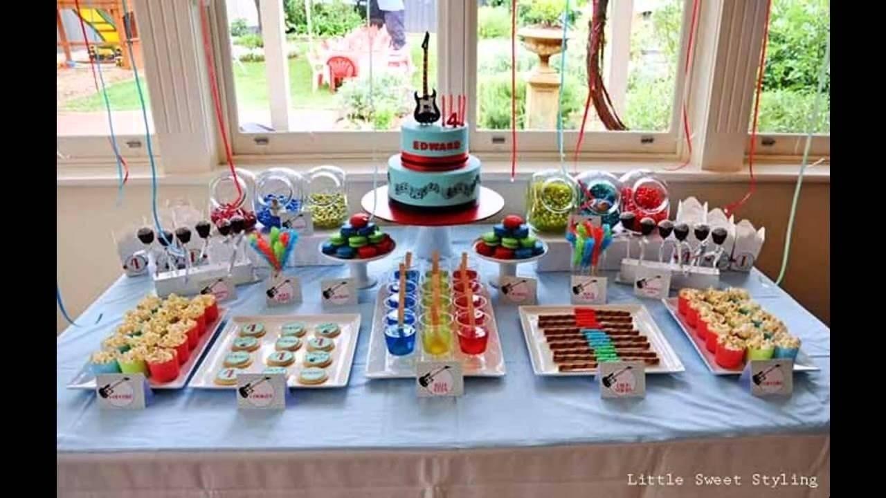 10 Stylish Ideas For Boys Birthday Party boys birthday party themes decoration ideas youtube 1