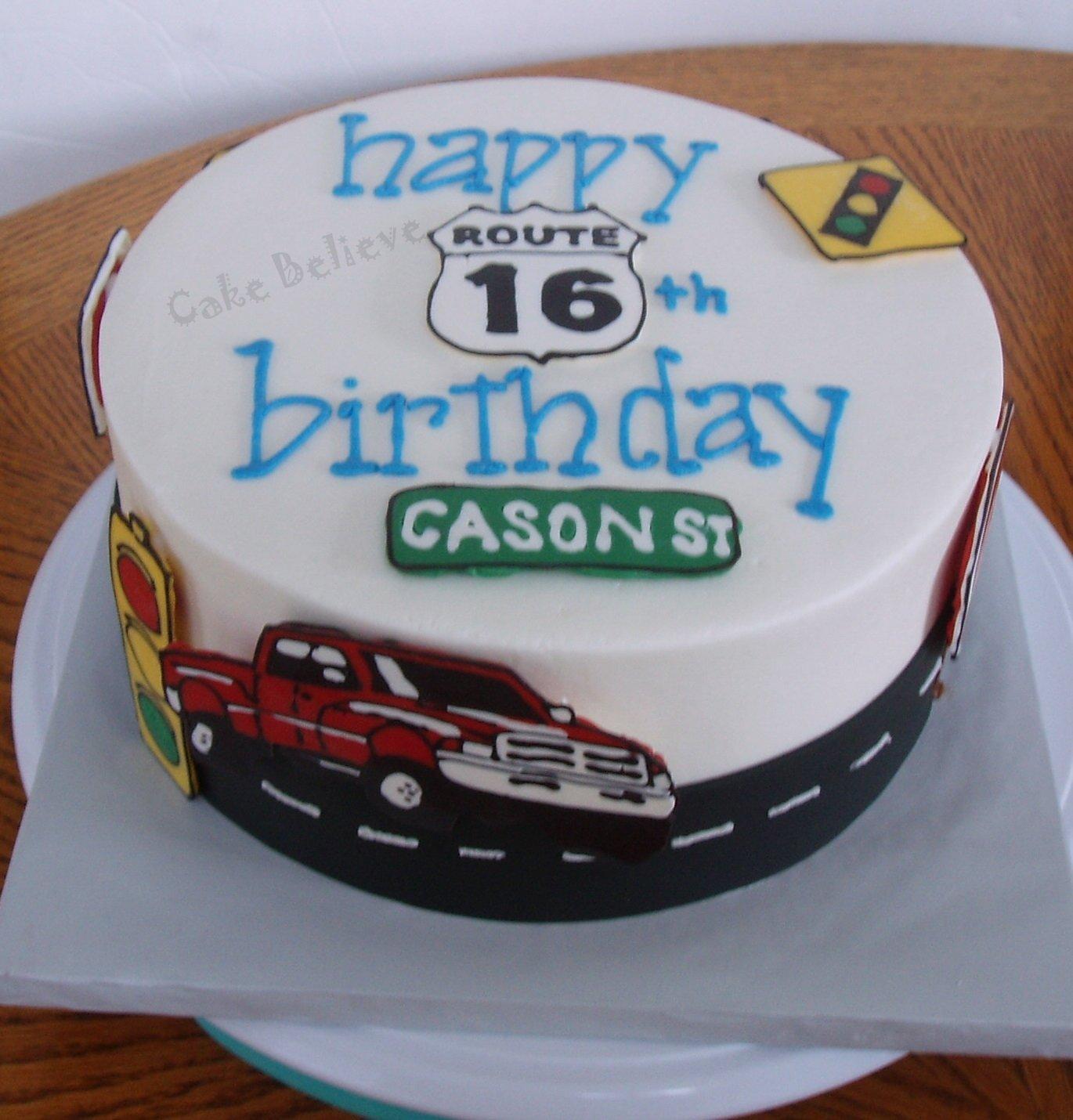 10 Ideal 16Th Birthday Cake Ideas For Boys boys16thbirthdaycakeideas hope cason is a safe driver party