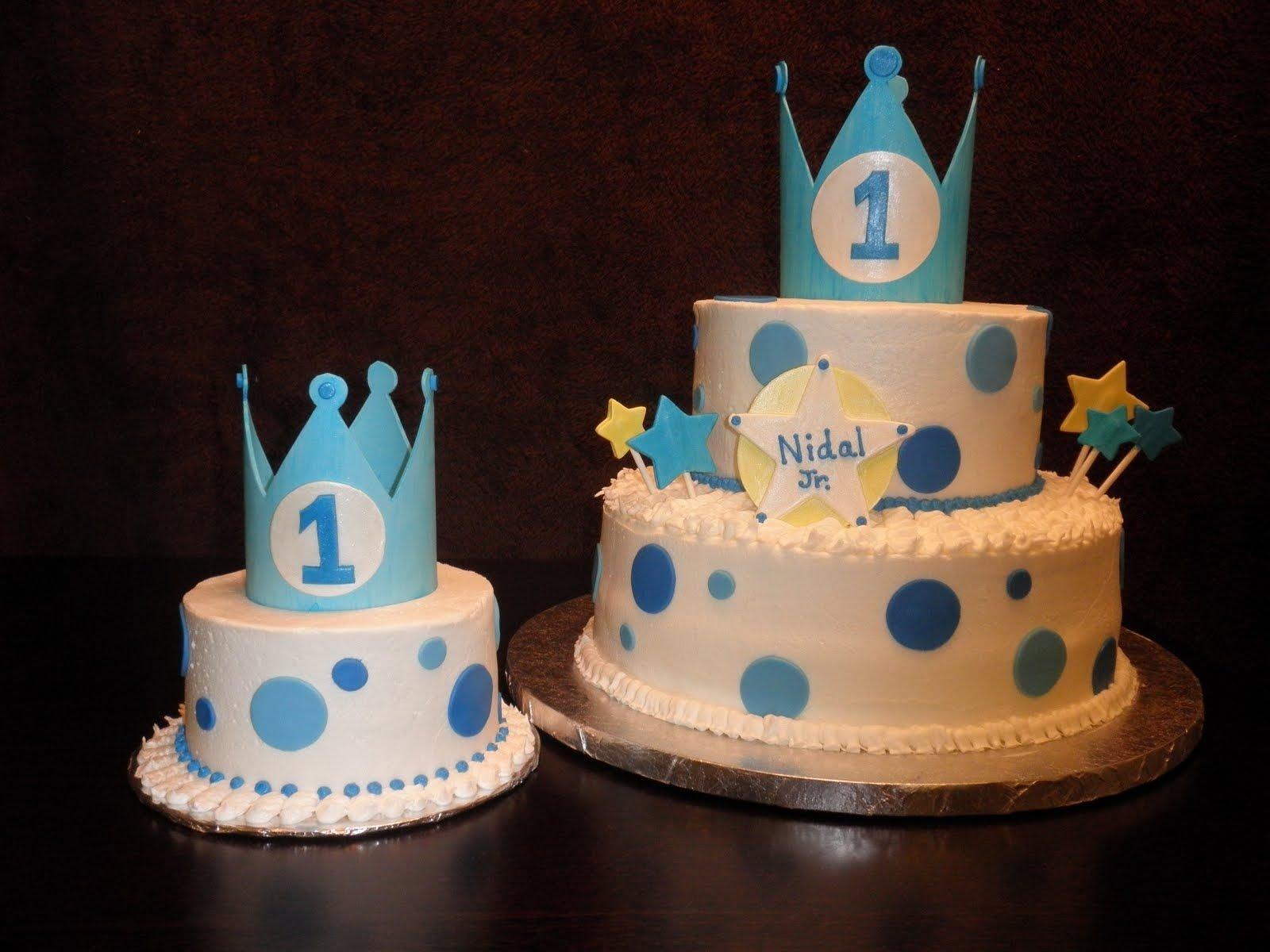 10 Cute Baby Boy First Birthday Cake Ideas boysfirstbirthdaycake this cake was for a special baby boy