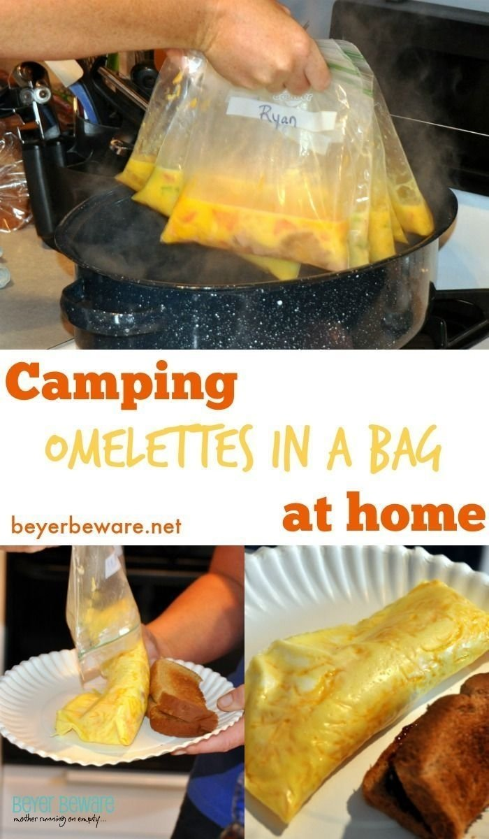 10 Most Recommended Camping Dinner Ideas For Large Groups breakfast eggs in foil bowls recipe camping breakfast egg and bowls 2021