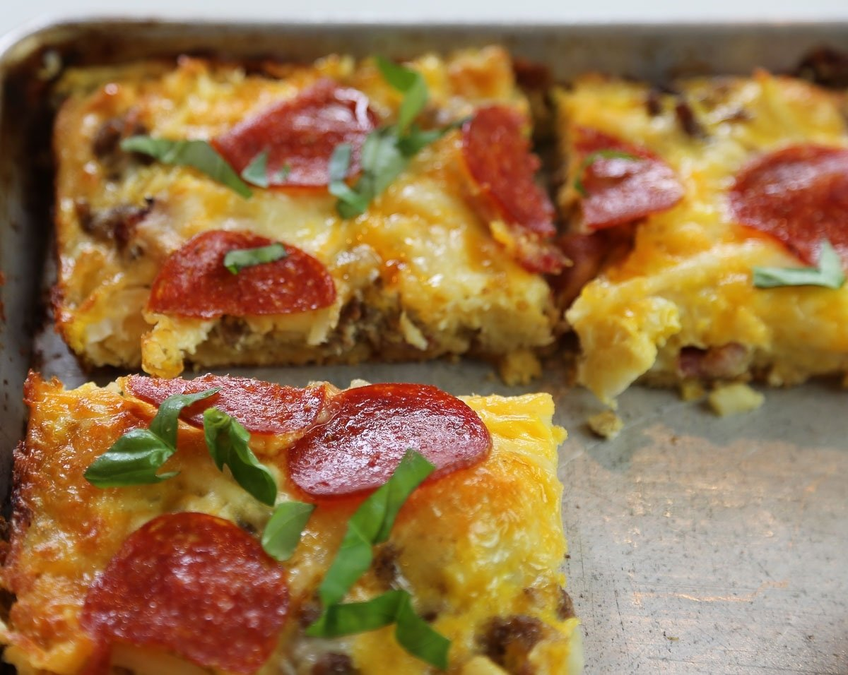 10 Fashionable Easy Breakfast Ideas For A Group breakfast pizza for a crowd aloha dreams 1 2020